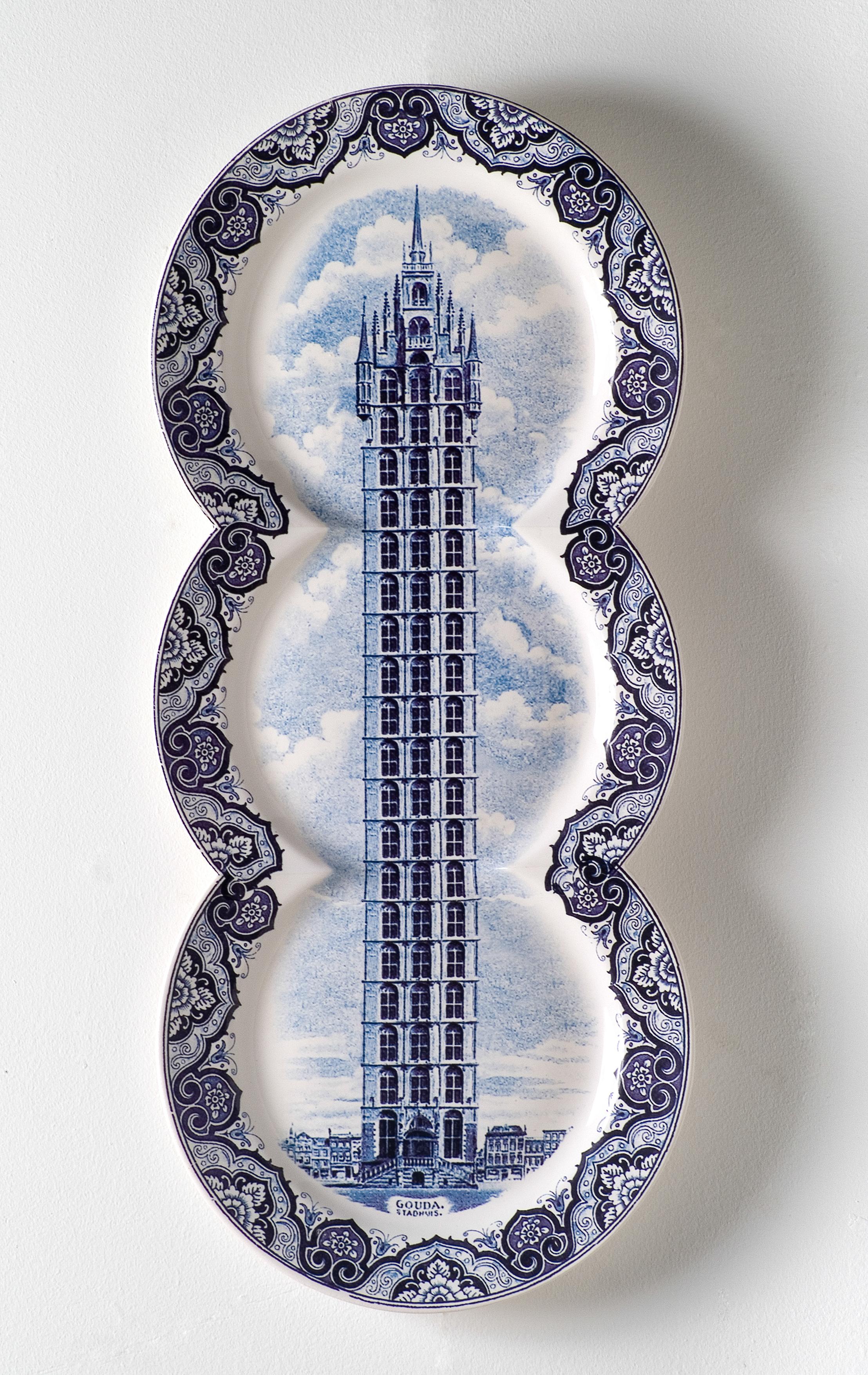 Gouda Stadhuis. 50cm x 22cm.