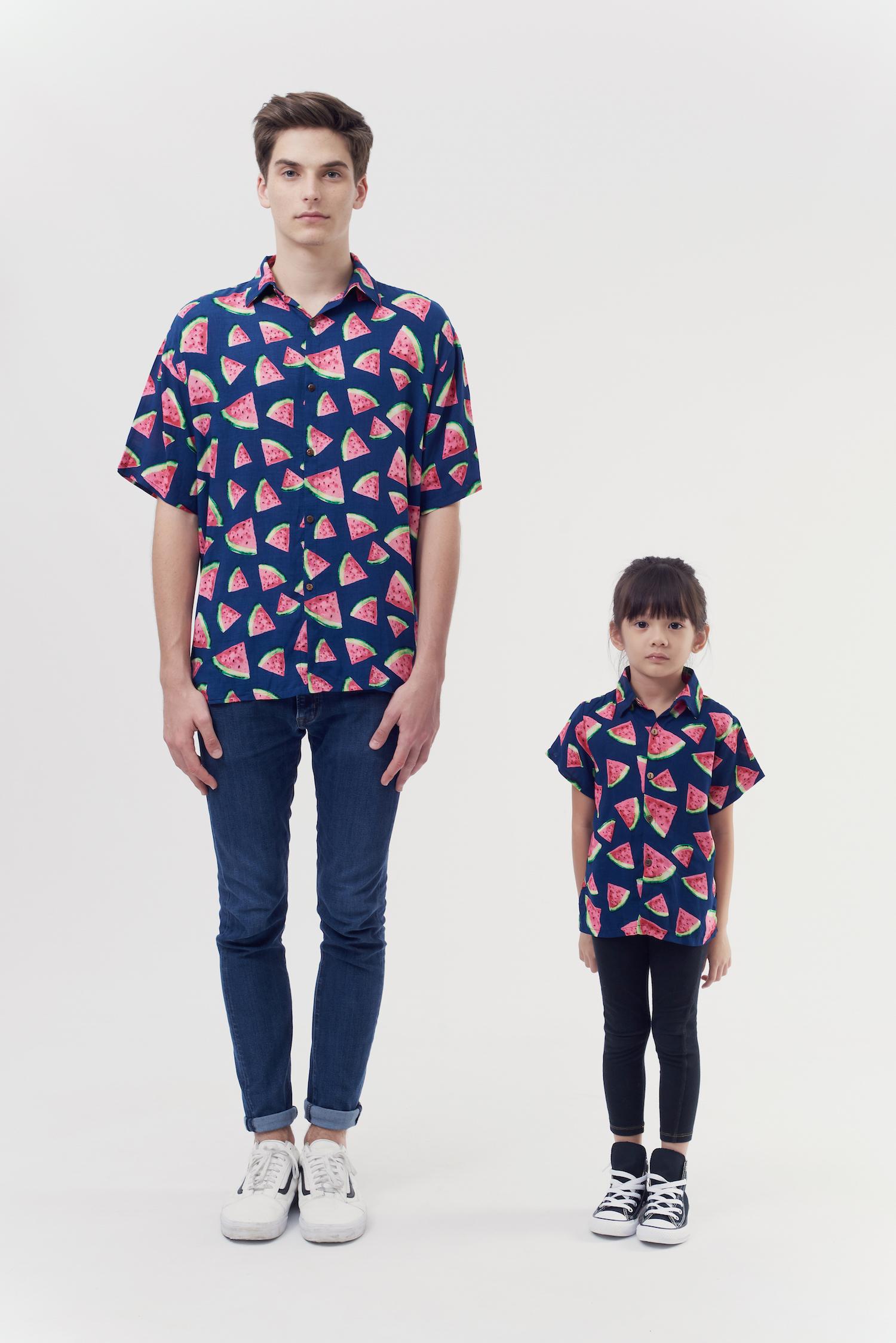 Matching Fruit Shirts