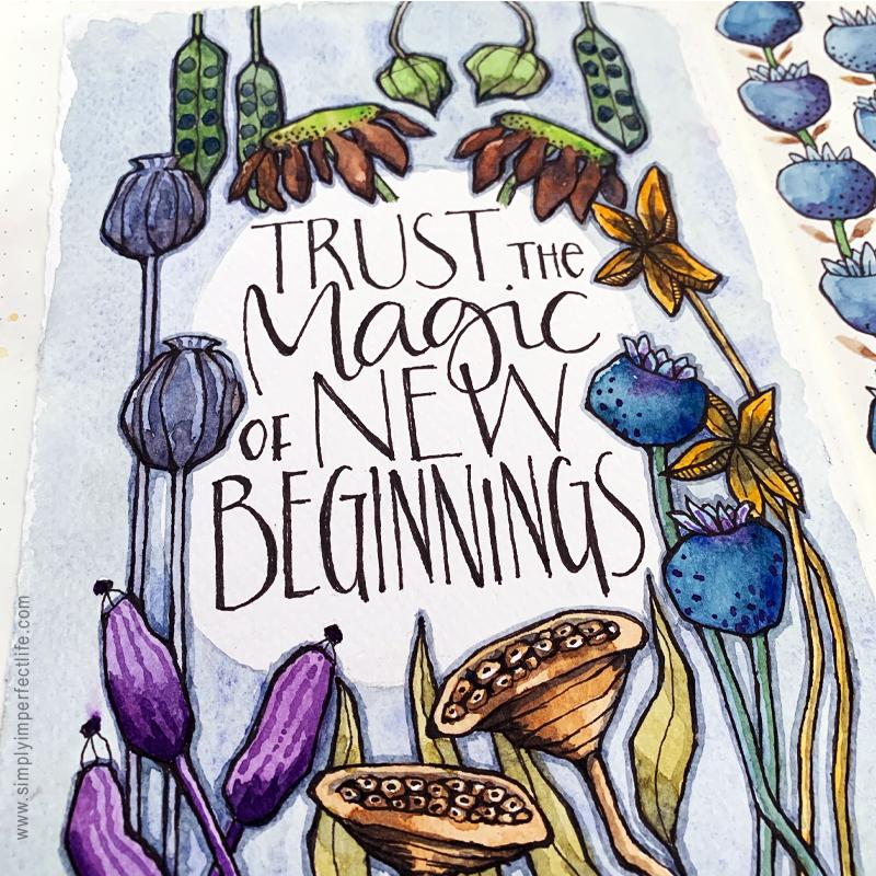 New Beginnings planner printable by Mariana Black