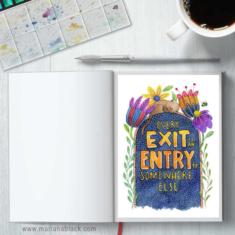Exit Entry Planner Printables: A4 and A5 sizes