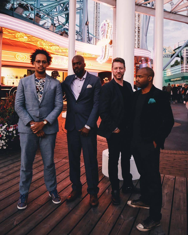 The Partners: Ramon de los Santos, Molaundo Jones, James Sasser, and Charles Vincent Burwell
