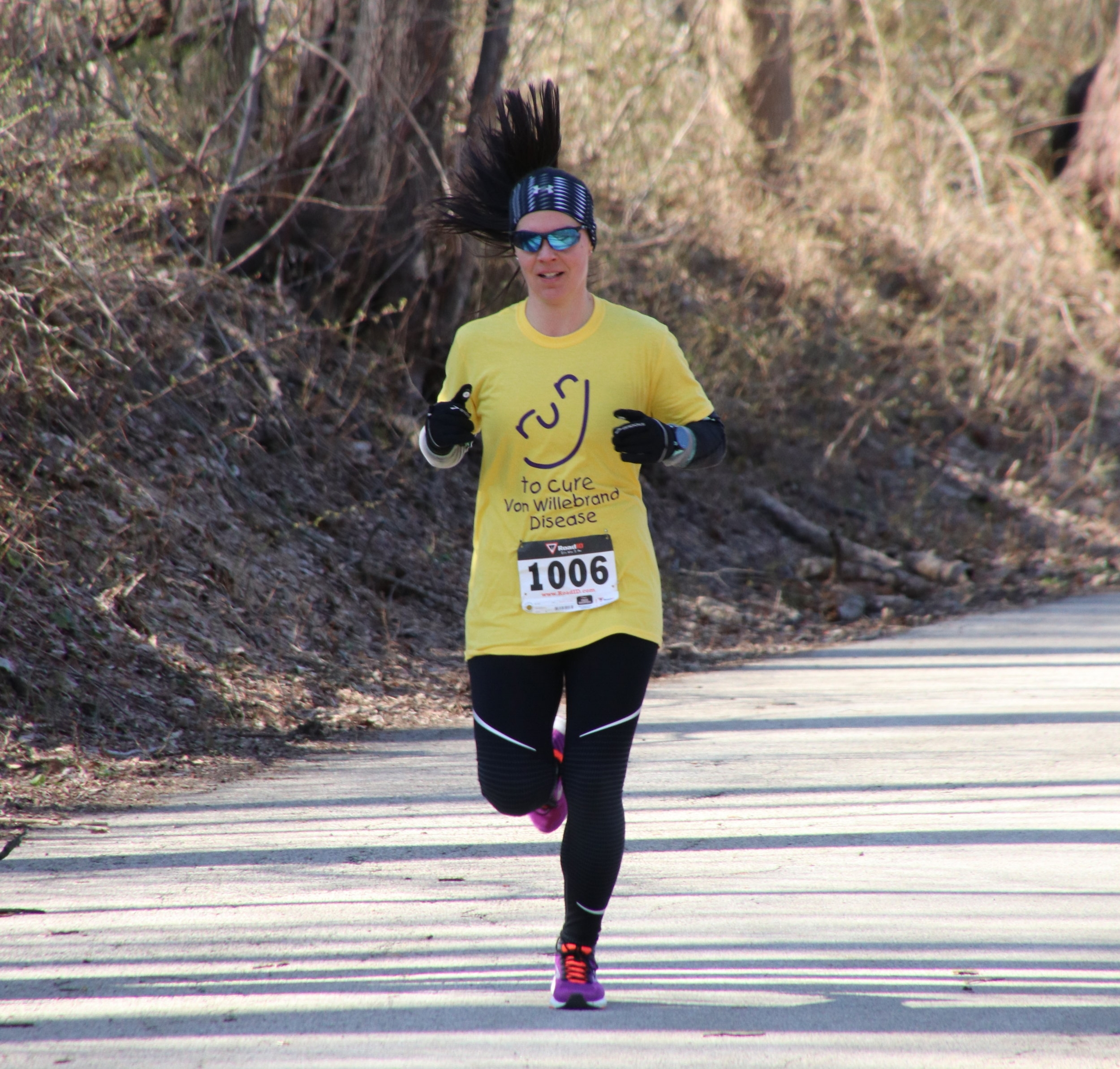 running to cure bleeding disorders