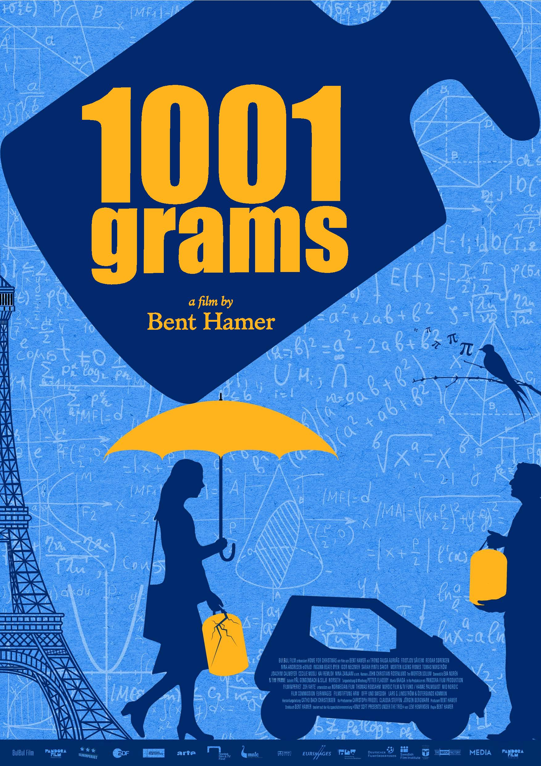 1001 Grams  by  Bent Hamer
