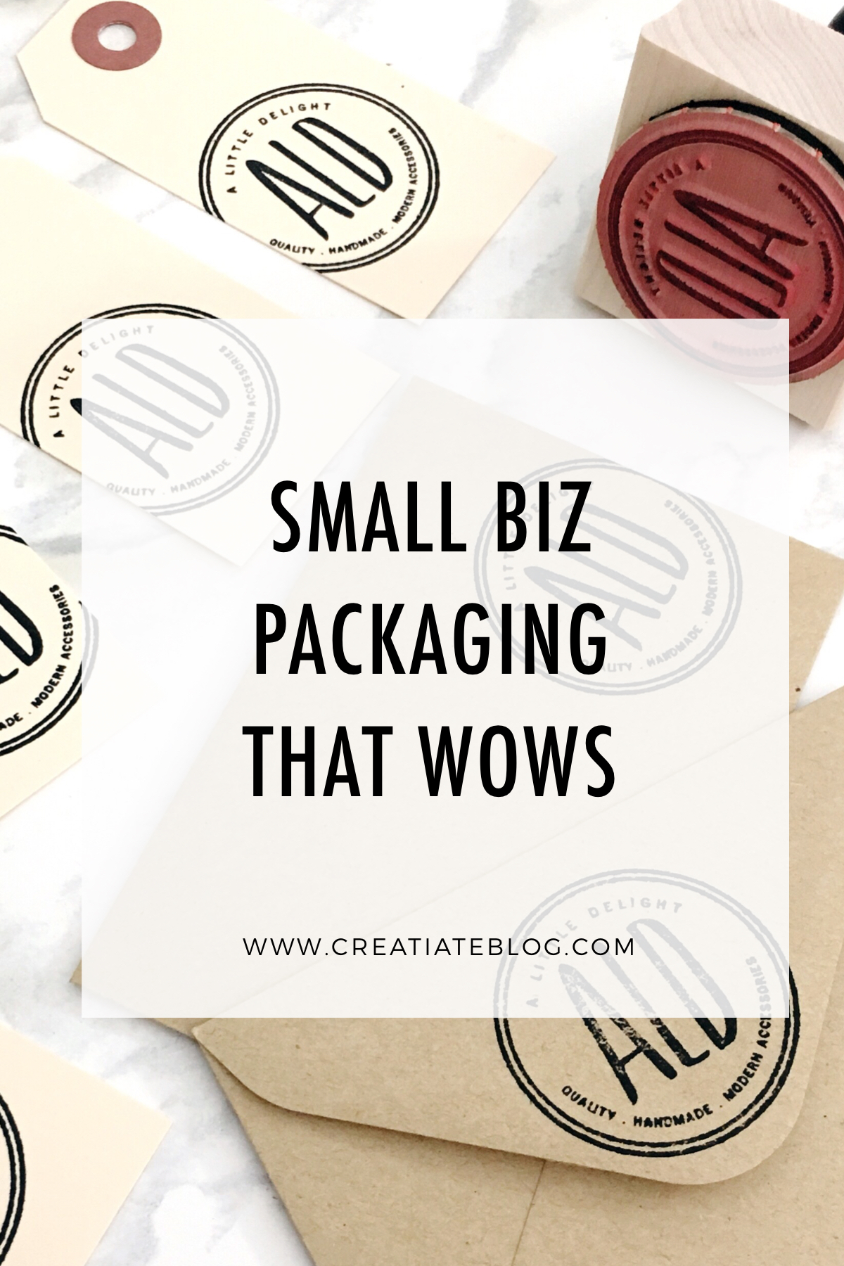 Copy of Simple + Awesome ideas for small business branding & packaging that your customers + clients will LOVE from the Creatiate blog | More at www.CreatiateBlog.com