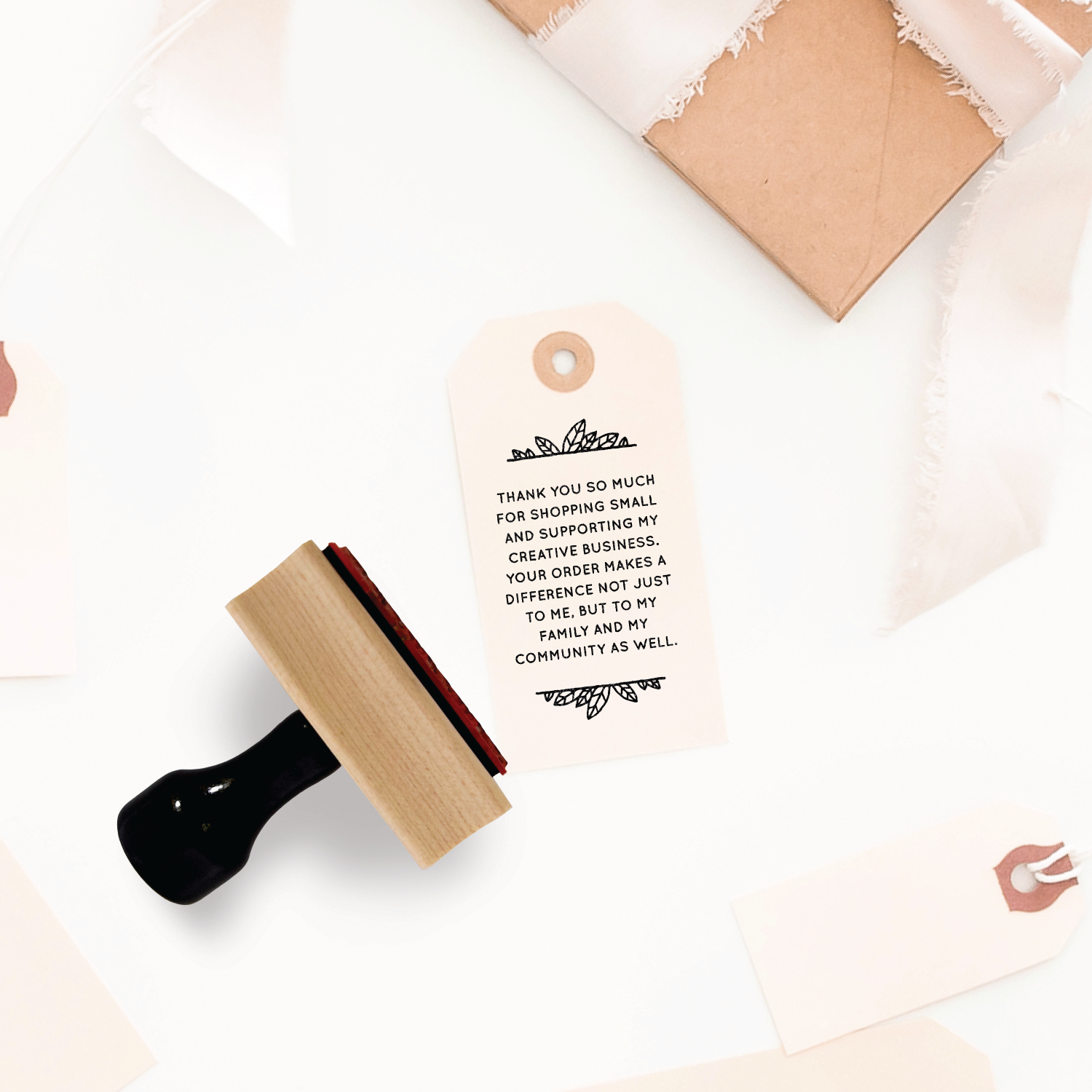 Creativepreneur Thank You Note - Rubber Stamp by Creatiate.png
