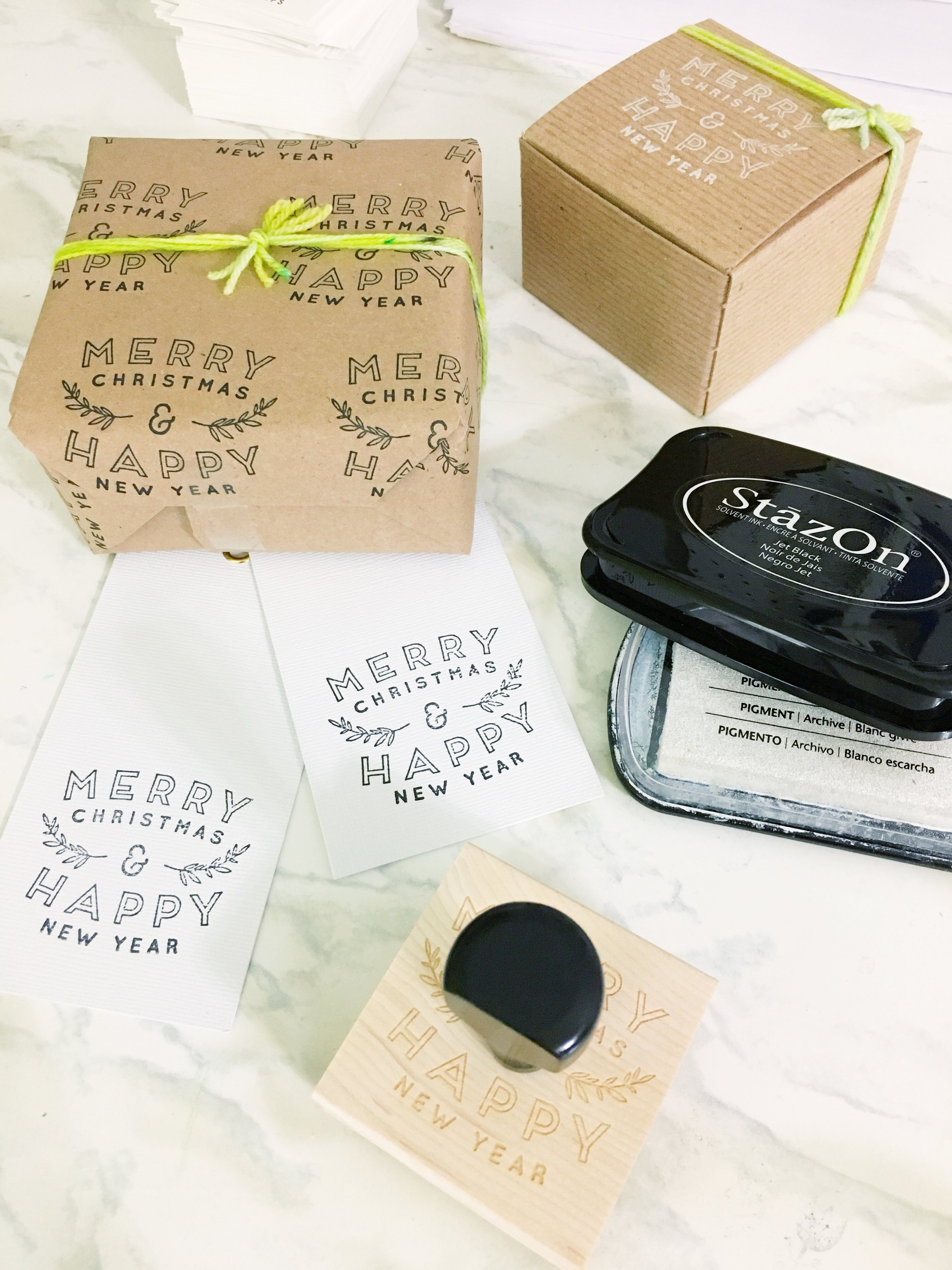 Creatiate Custom Stamps DIY Christmas Gift Wrap20.jpg