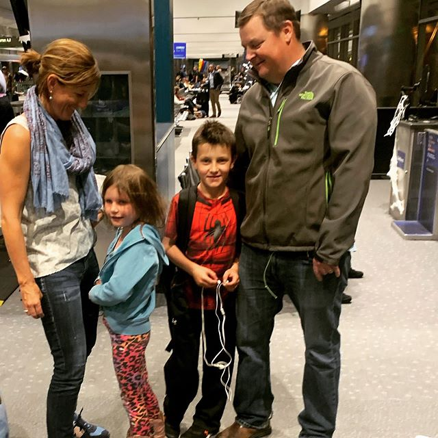 Obligatory airport photo = #epicfail Plane boarded = #success . . . . #boiseorbust #familyadventures #travelwithkids #pursuingfreedom