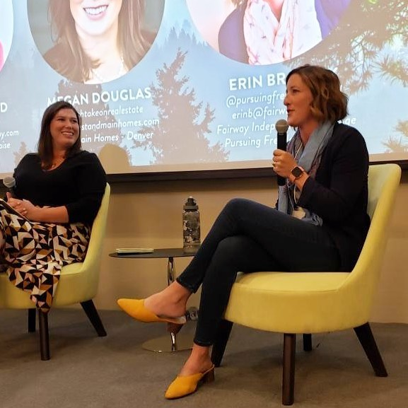 So grateful to have been included on a panel of amazing #realtors at @genuinehustle ❤️ If you're an agent, looking for concrete ideas, open collaboration, and camaraderie...you don't want to miss this conference next time it comes around! Every speaker brought serious value, and HONESTY about what it takes to find success, and maintain happiness amidst the growth in this industry. Real friendships are formed at this event! Don't miss the next one! 👏 Thank you so much @staciestaub for inviting me. Still flying high from the event! #realestateconference #realtorsuccess #realestatestrategy #pursuingfreedom #iloverealestate