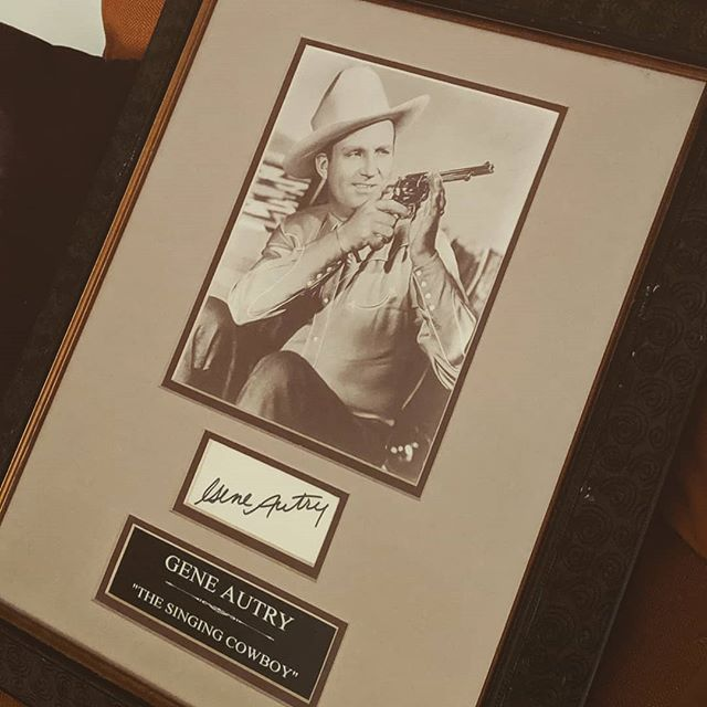 Thanks @kurtscuriousities! This is awesome.. . . . . . #kurtscuriosities #antiquities #collector #decor #curiosities #frame #vintage #geneautry #dallastx #okc