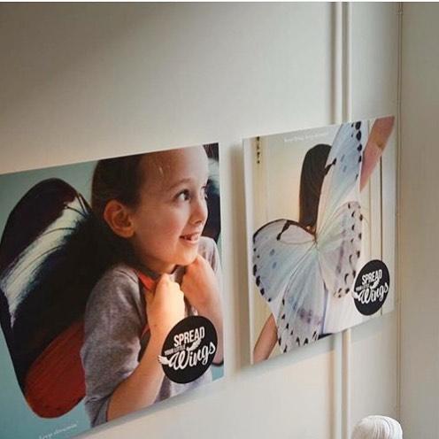Spread your little wings🦋 . . . #westerlab #amsterdam #creative #westerstraat #jordaan #studio #creationspace