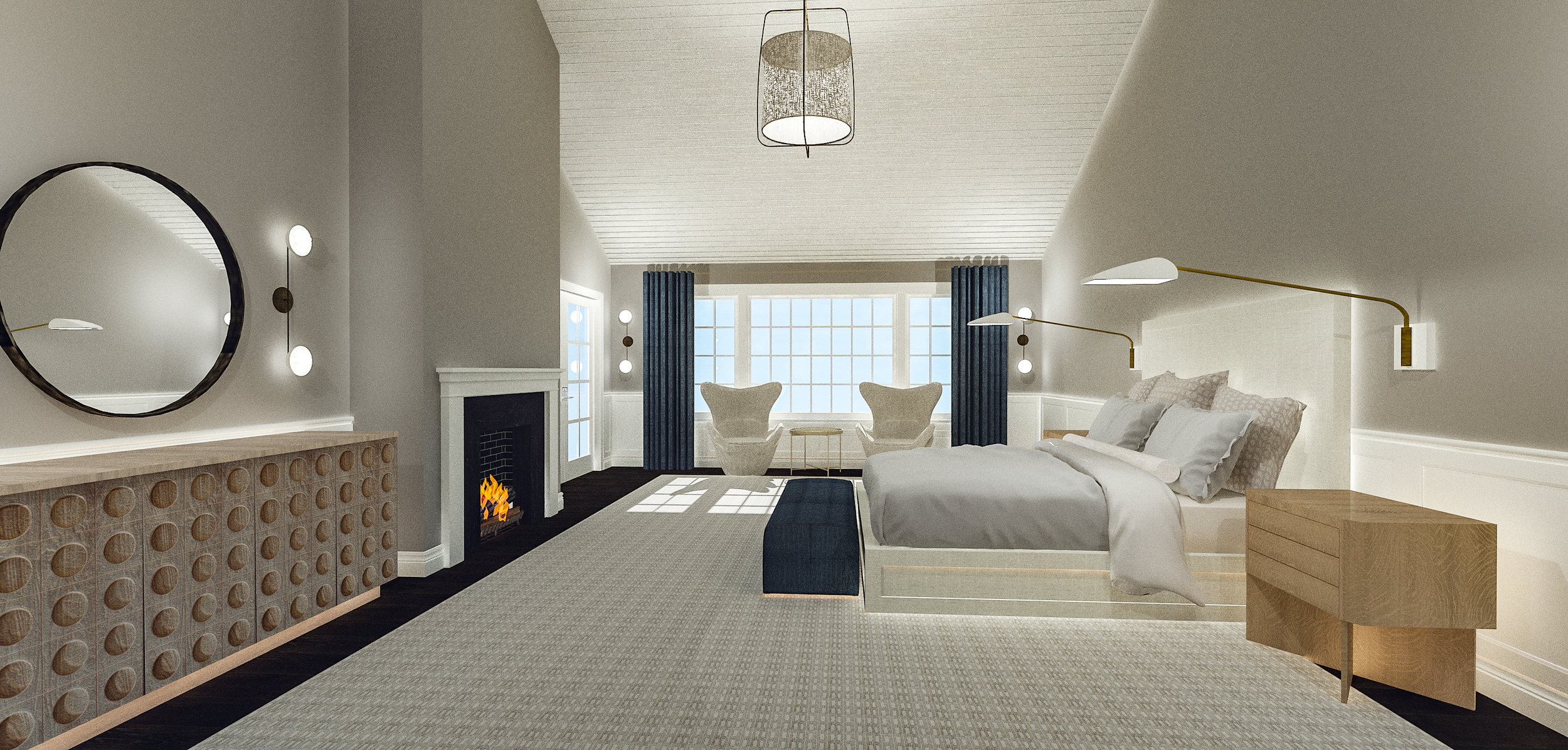 FINAL RENDERING | Designed by: Anne Carr Designs | Rendered by: Kelly Fridline Design using Chief Architect X11