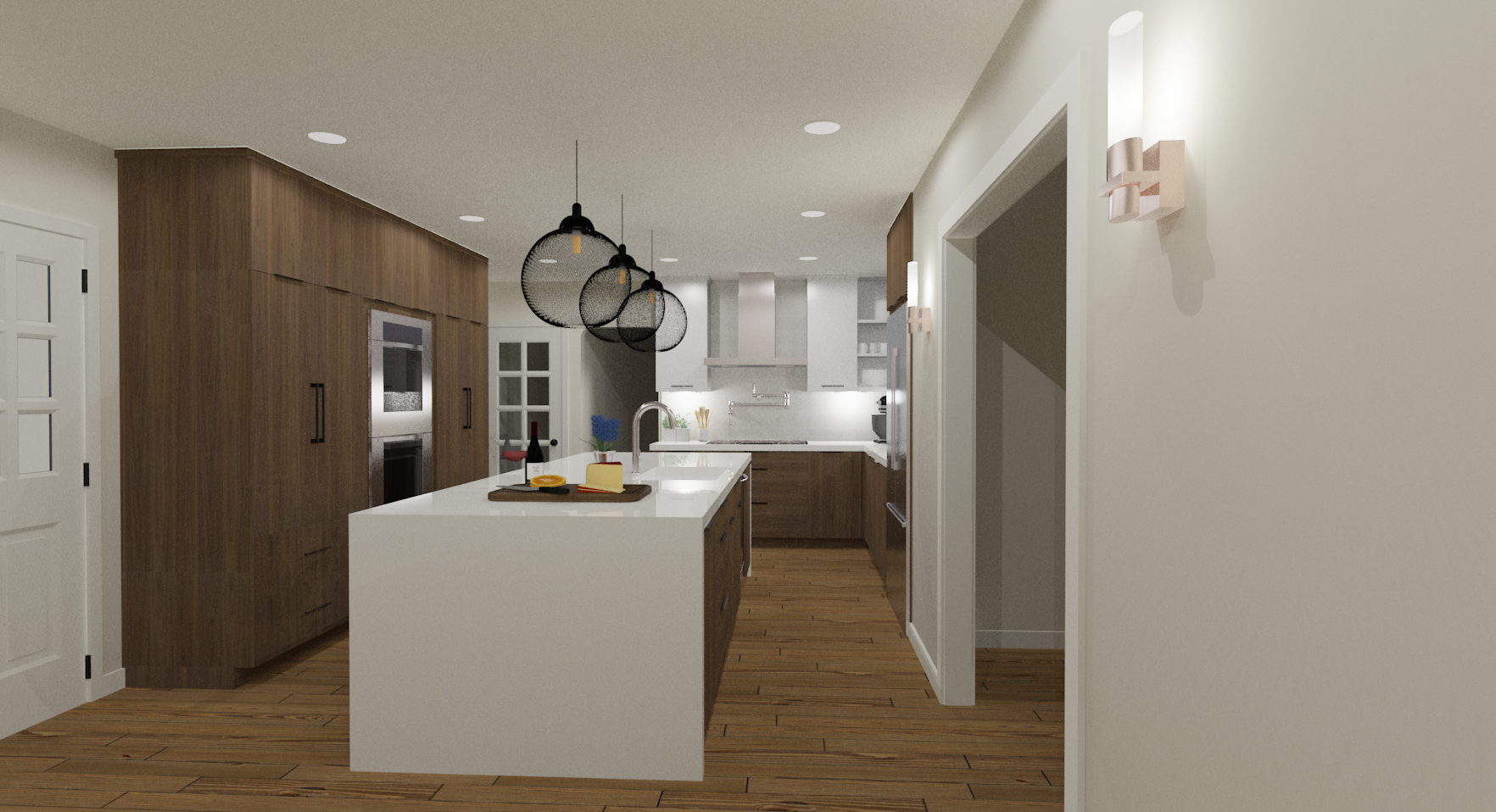 Contemporary Kitchen Rendering | Designed by Stalburg Design.png