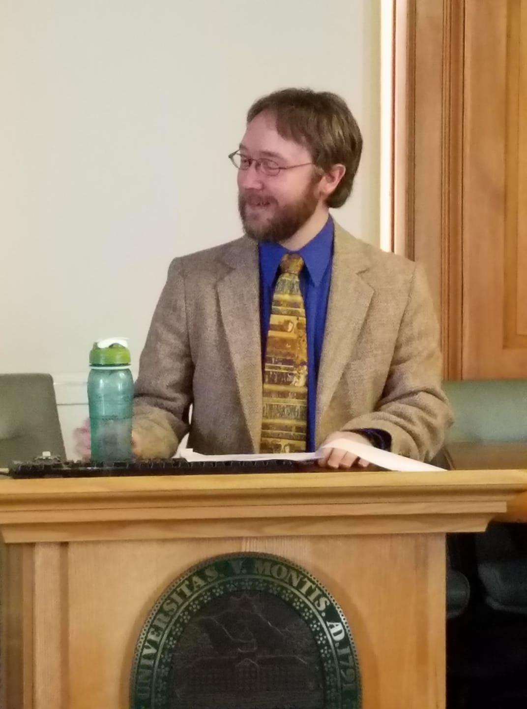 Ian Gauthier · children's librarian · Aldrich Public Library