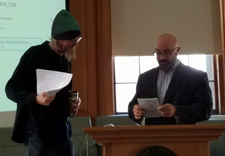 Jamie Williamson · senior lecturer · UVM w/Chris Vaccaro