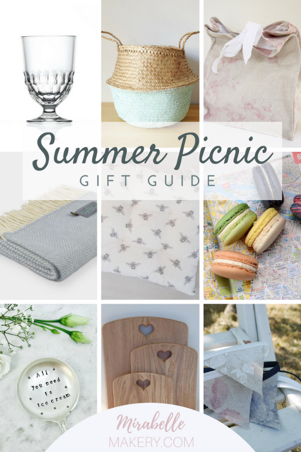 Picnic gifts and home accessories for the summer