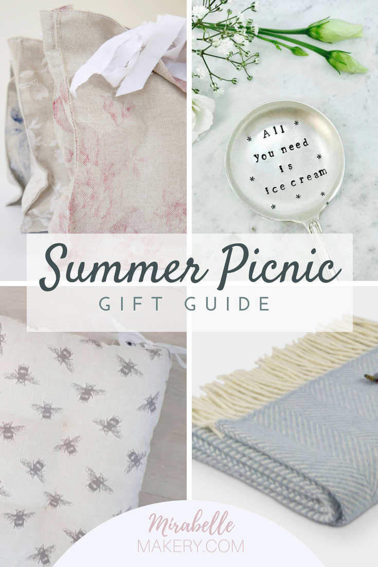 Picnic accessories and gifts for her