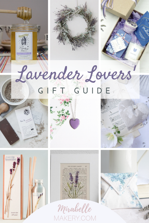 Perfect gifts for lovers of lavender for calm and relaxing vibes