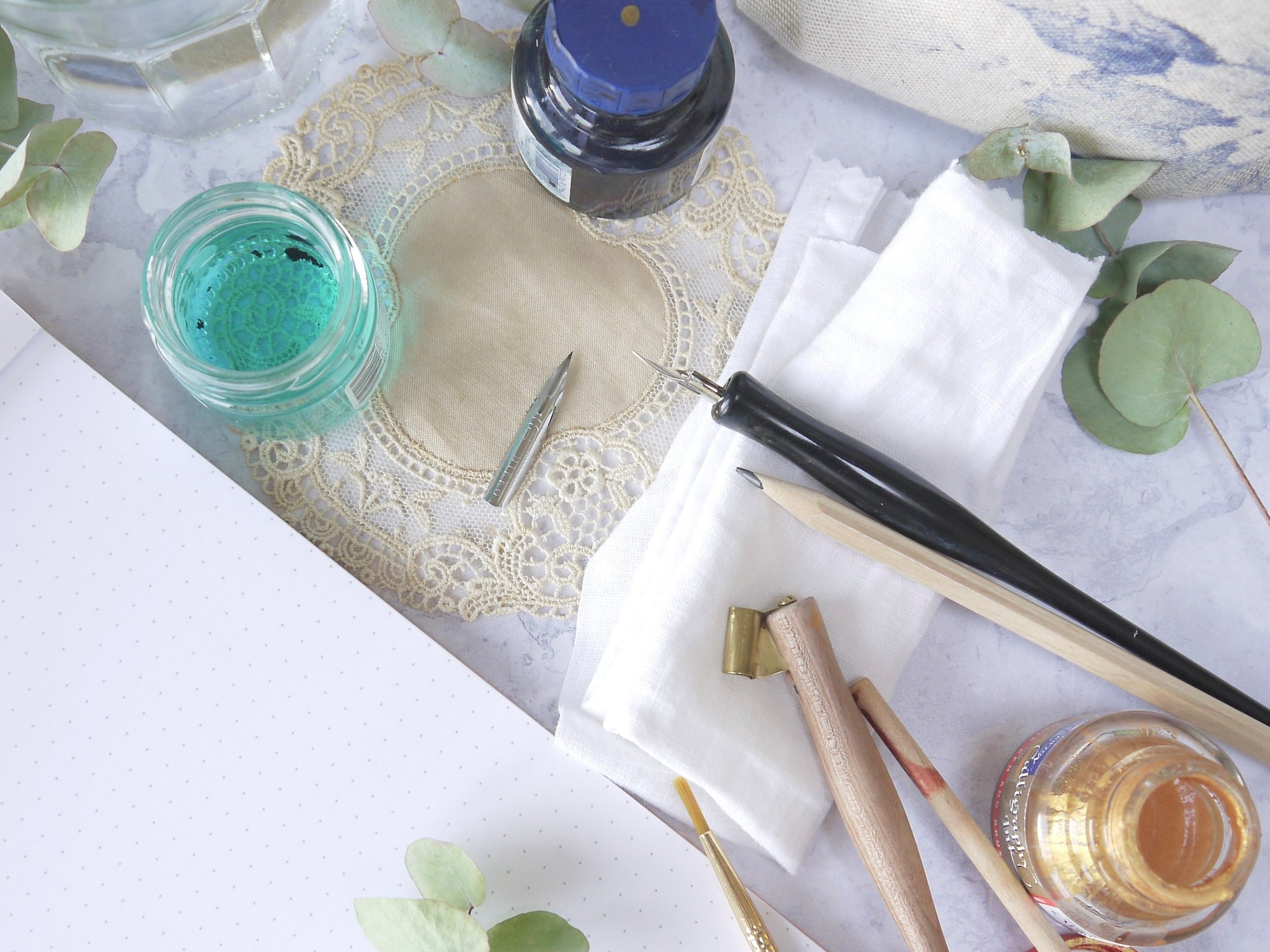 Modern calligraphy toolkit you need to get started with the pointed pen