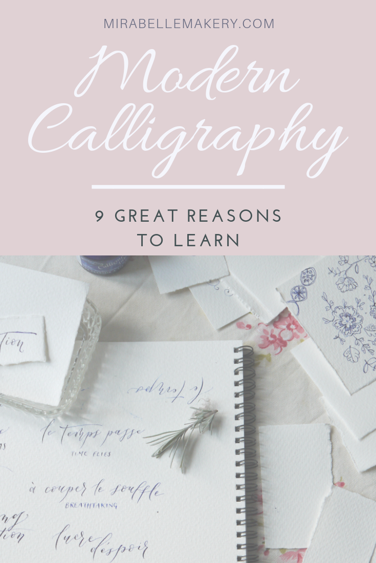 Great reasons to learn calligraphy as a new hobby
