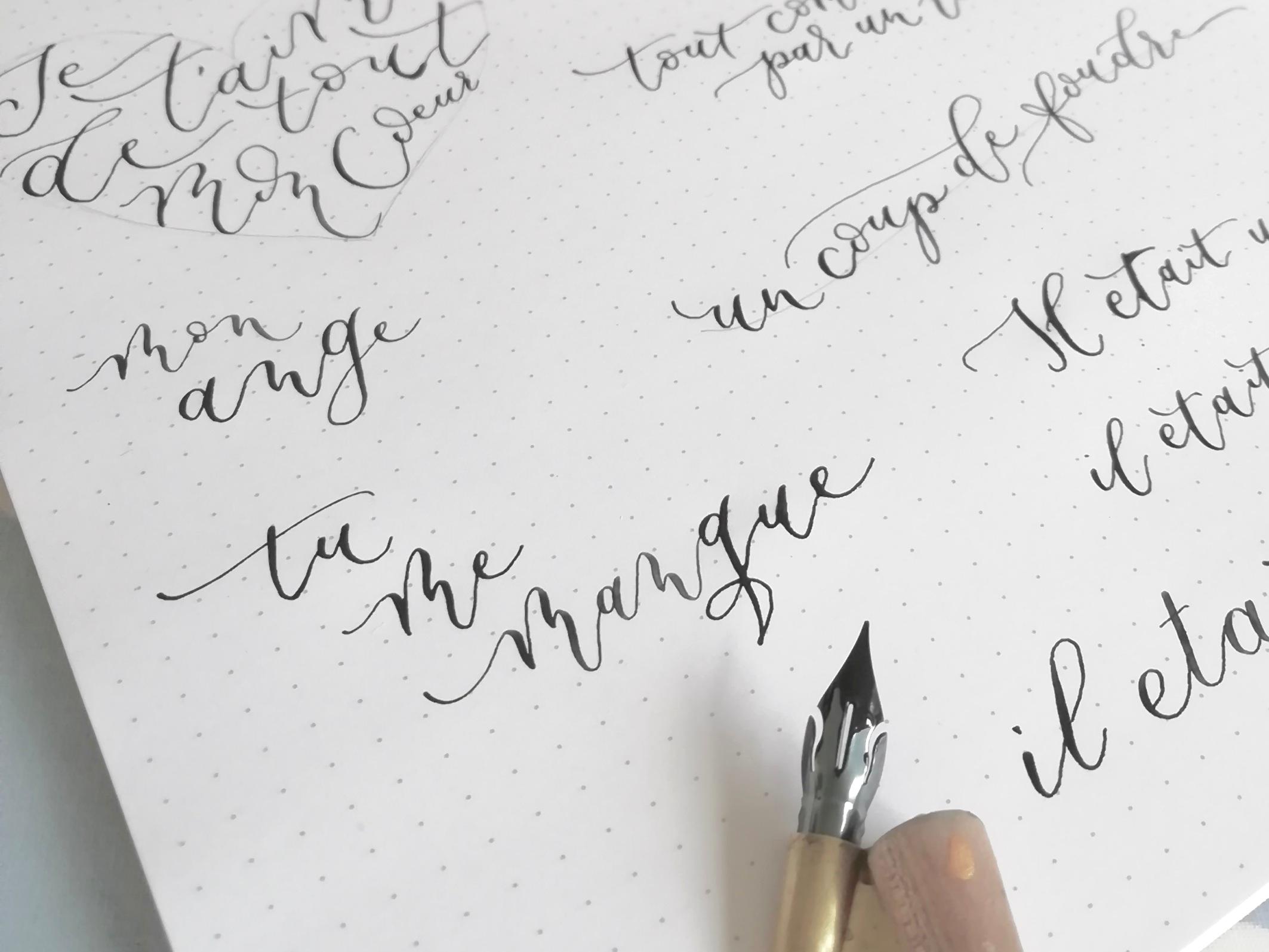 calligraphy practice for beginners