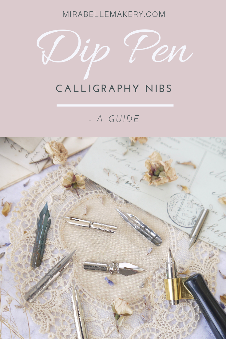 Know which calligraphy nibs to use for your projects