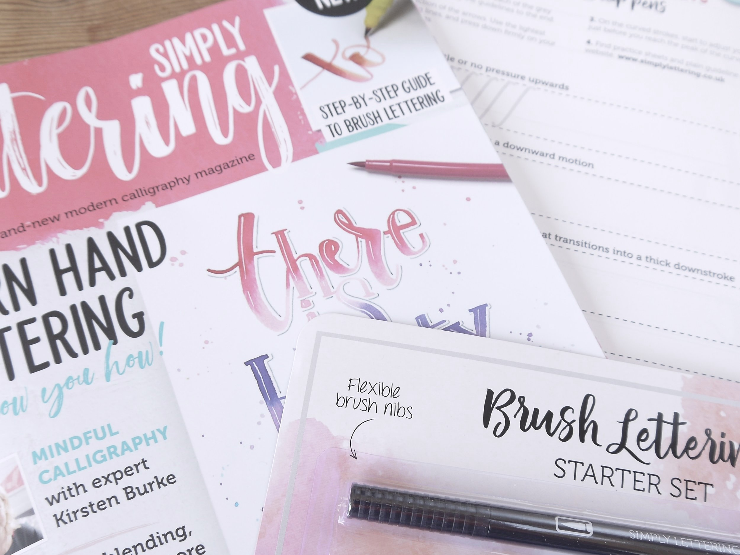 Win a copy of Simply Lettering magazine by entering this competition