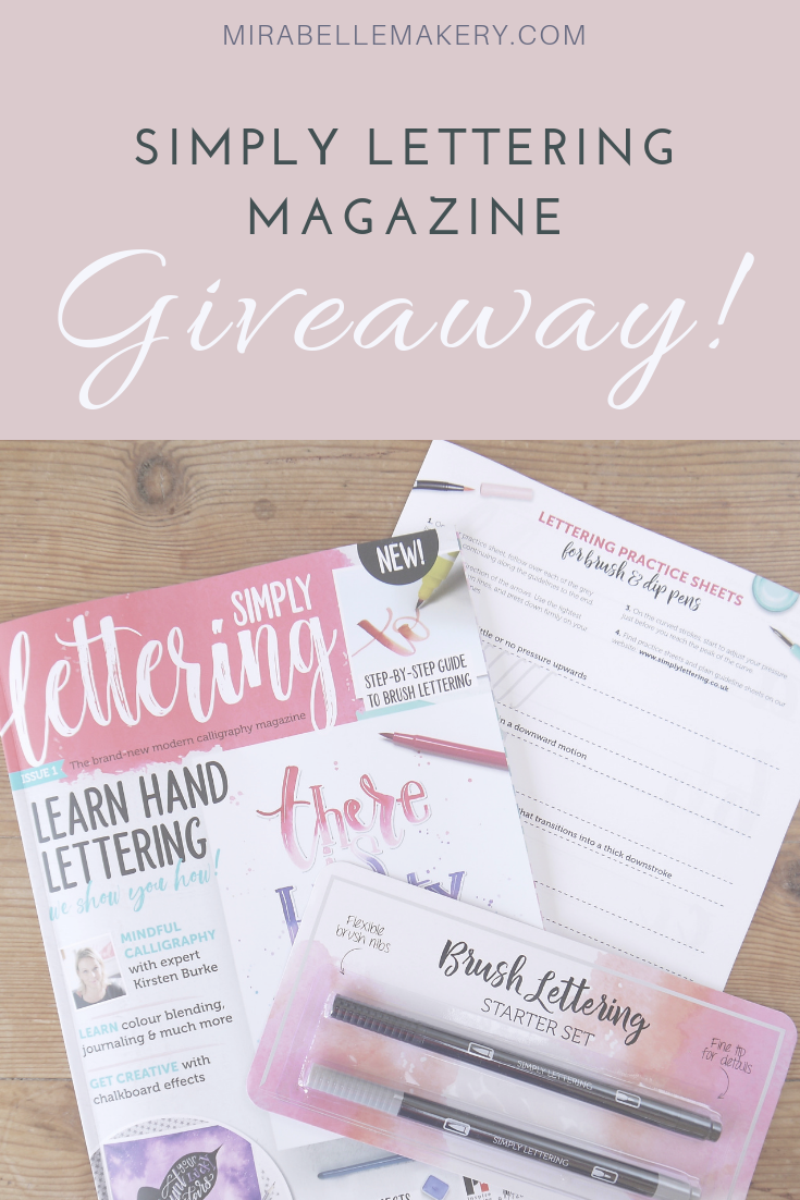 Your chance to win a copy of Simply Lettering magazine in this competition