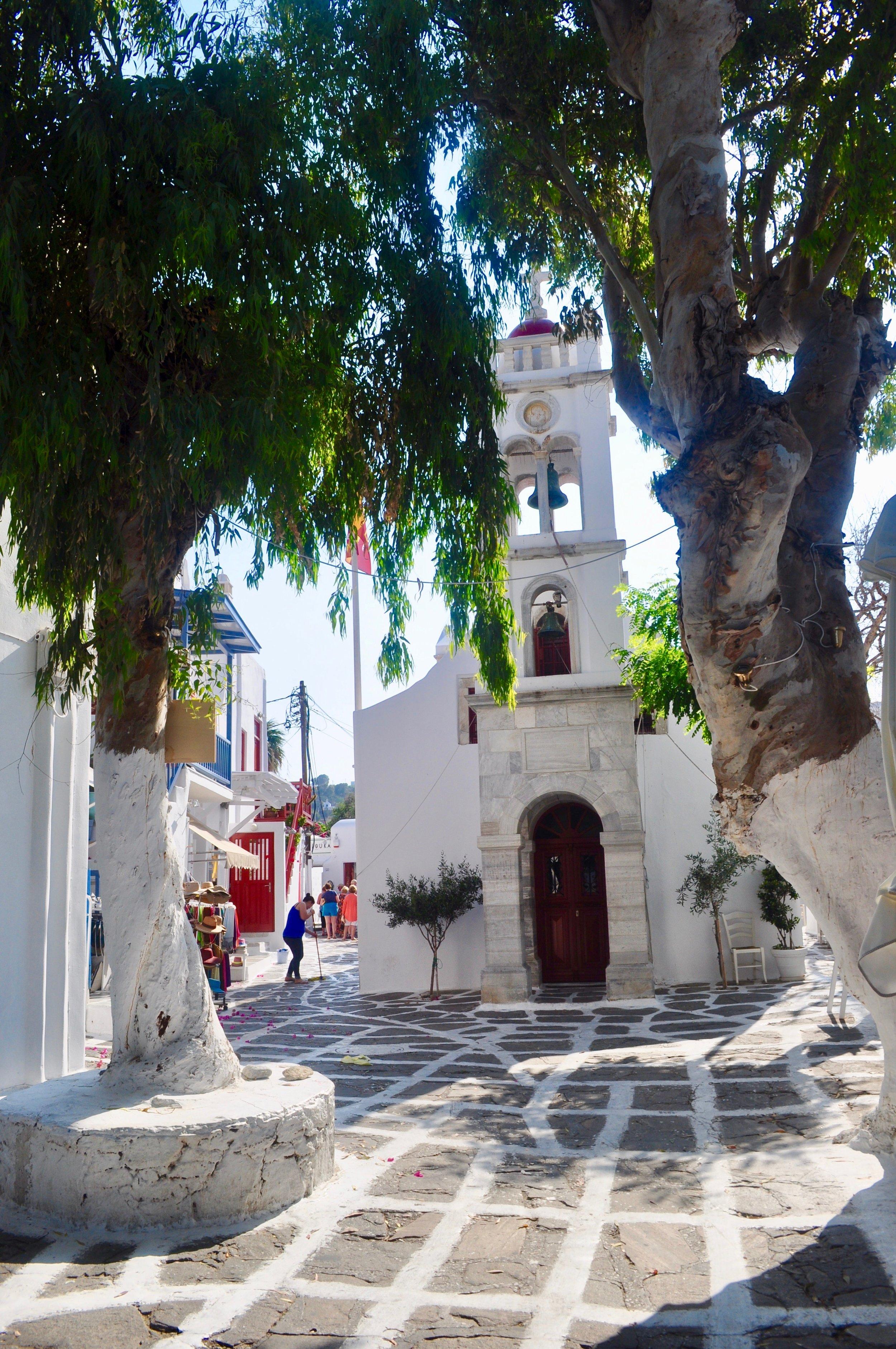 Half Day in the Stunning Mykonos Greece - A Happy Passport #mykonos #greece #travel