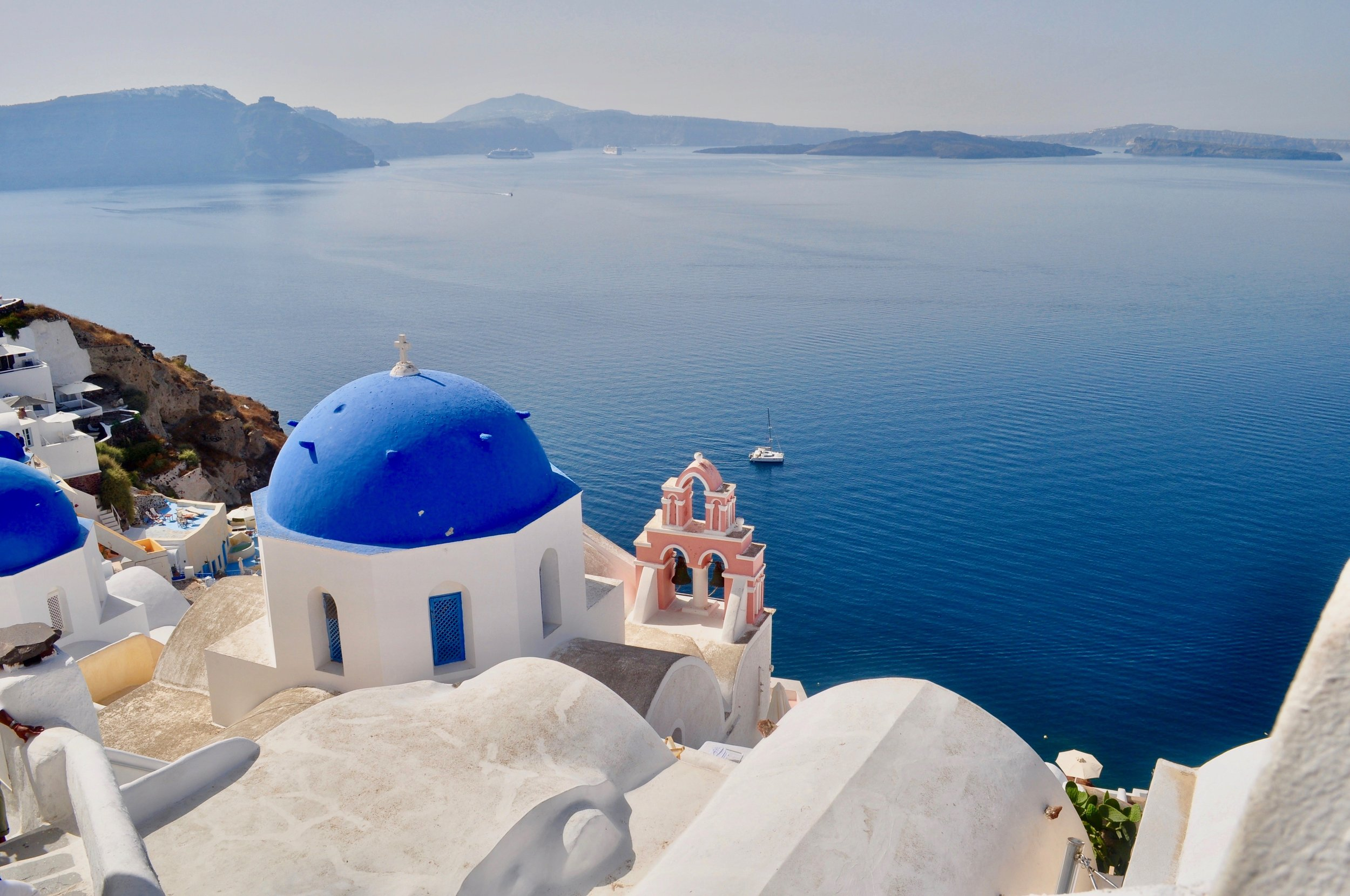 Exploring the Greek Isles on a Cruise - A Happy Passport #Greece #cruise #mediterranean
