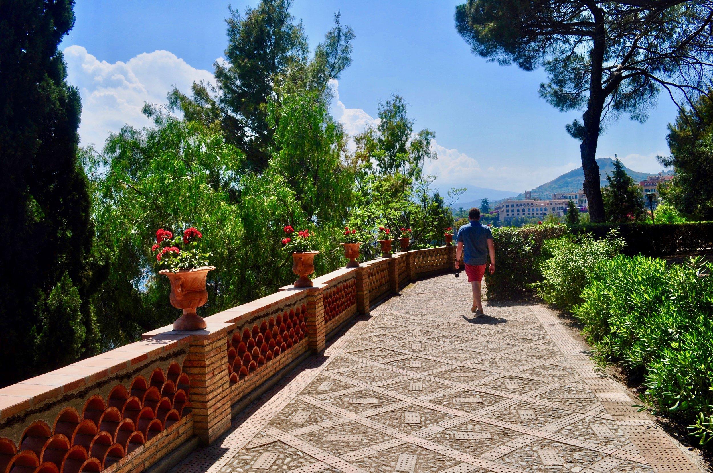 Villa Comunale - Public Gardens - in Taormina