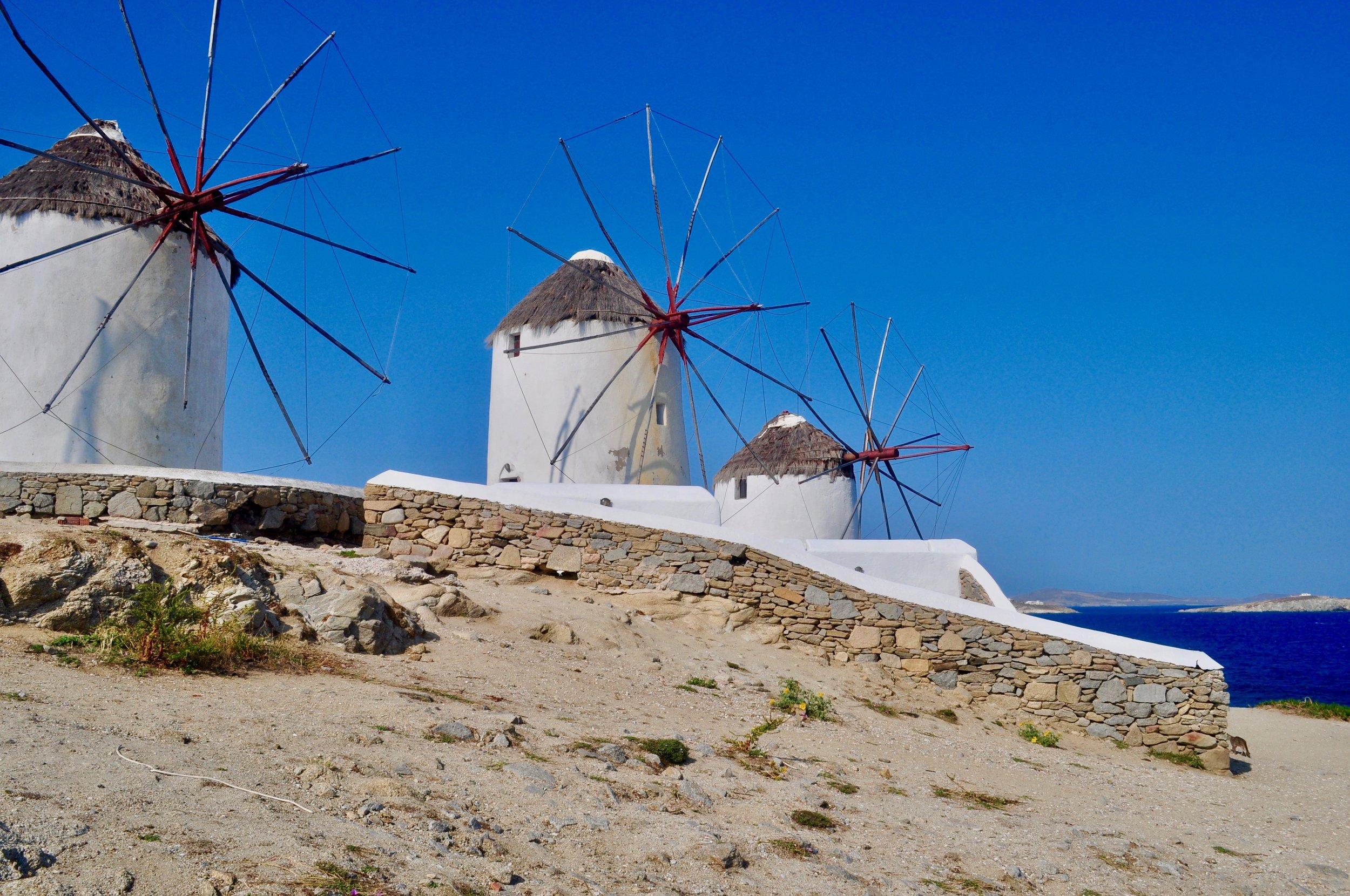 Exploring the Greek Isles on a Cruise - A Happy Passport #greece #mykonos #cruise
