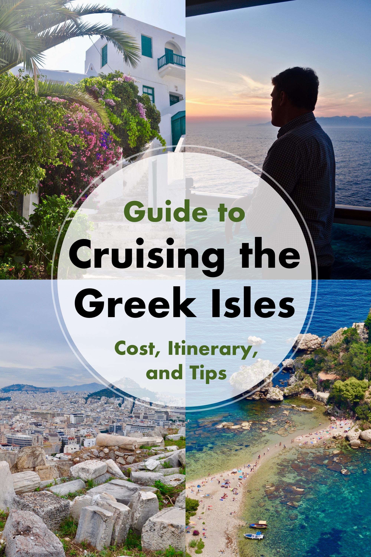 Exploring the Greek Isles on a Cruise - A Happy Passport #cruise #greece #italy #mediterranean #Greek #budget #europe #athens #santorini #mykonos #sicily #naples