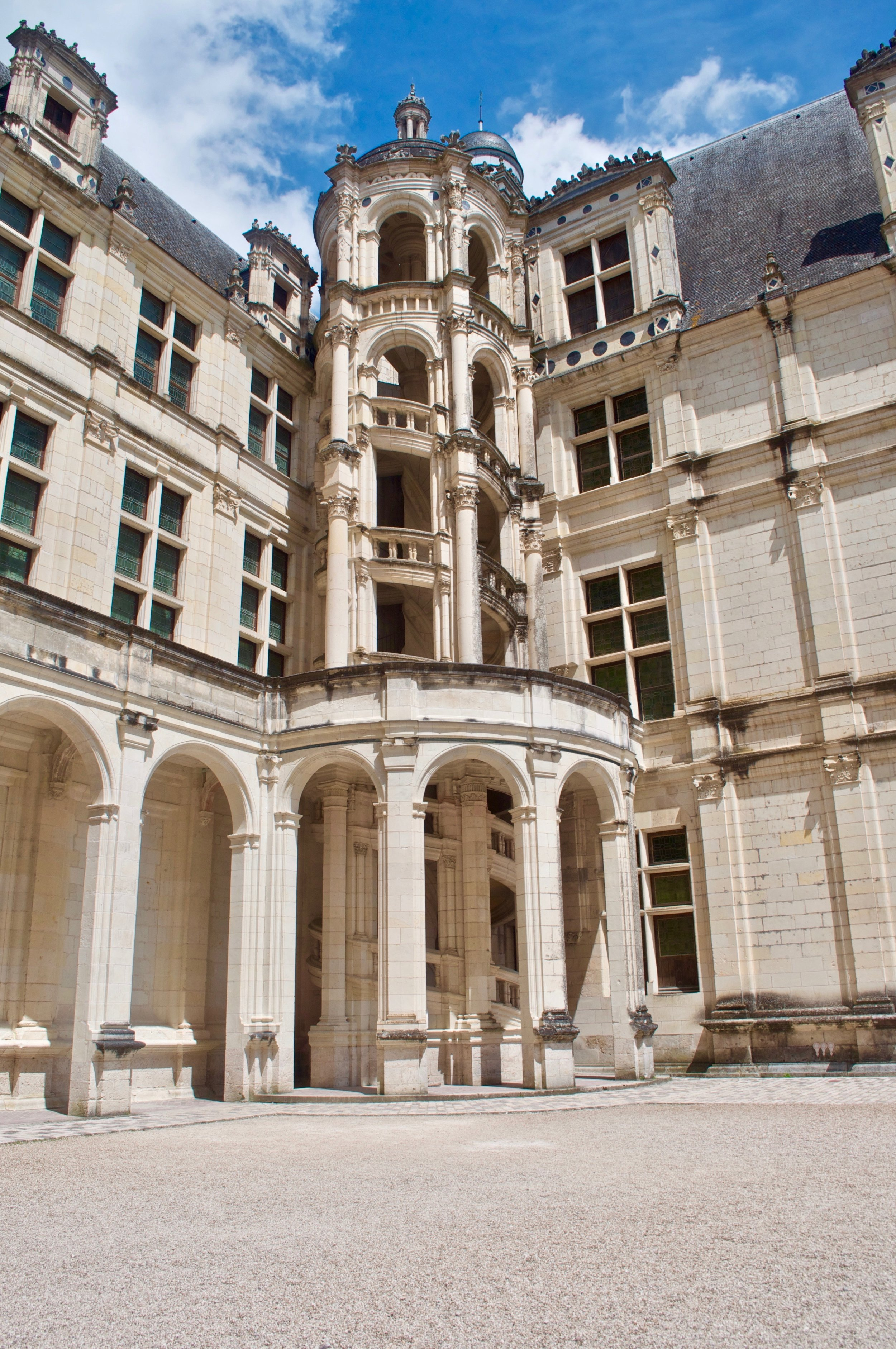 Chambord Chateau - 5 Most Magnificent Castles of the Loire Valley - A Happy Passport #chateau #castle #france #chambord