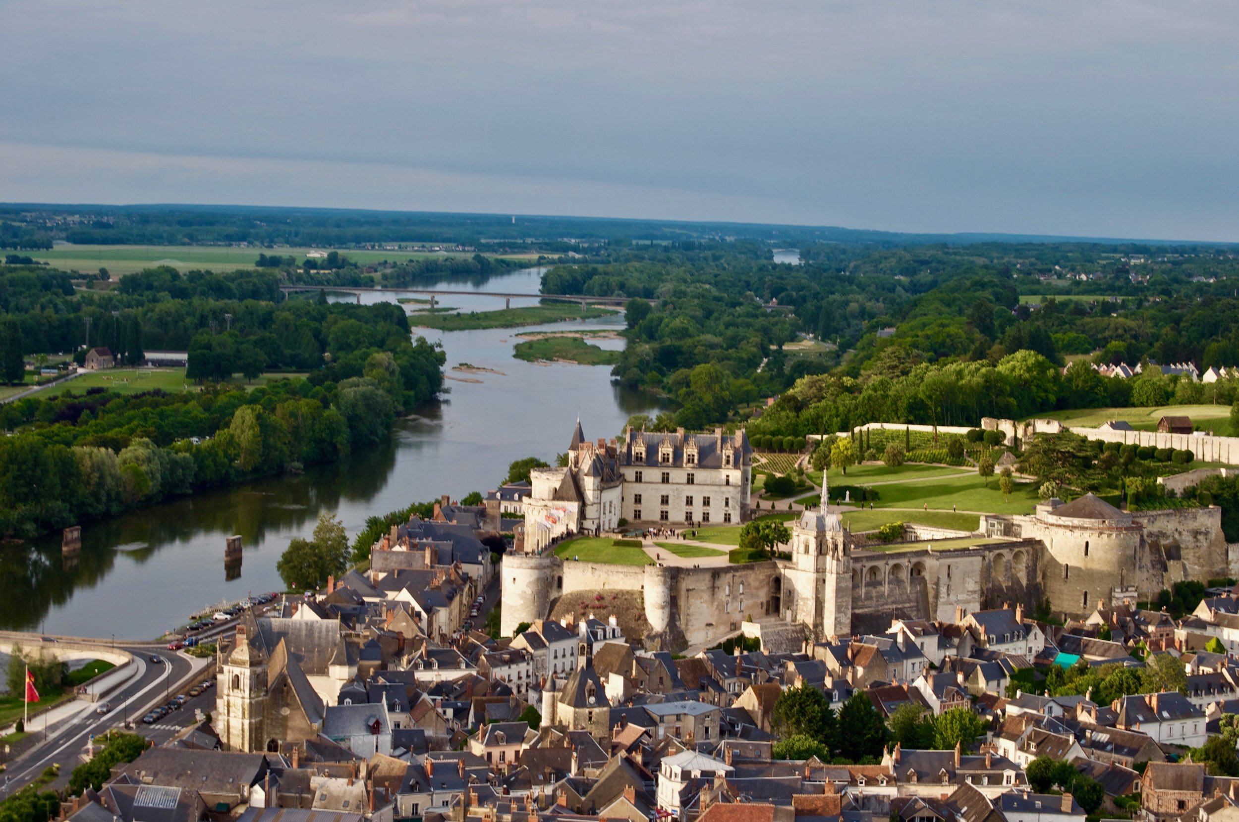 Amboise Chateau - 5 Most Magnificent Castles of the Loire Valley - A Happy Passport #chateau #castle #france #amboise