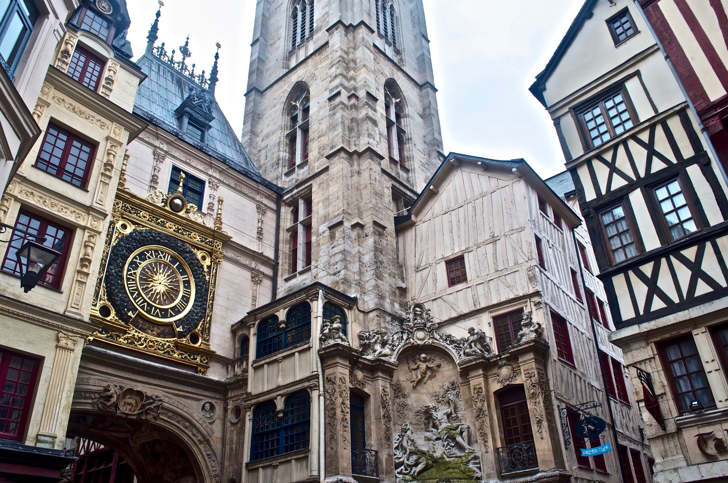 Rouen, France - Astronomical clock, Ultimate Northern France Itinerary