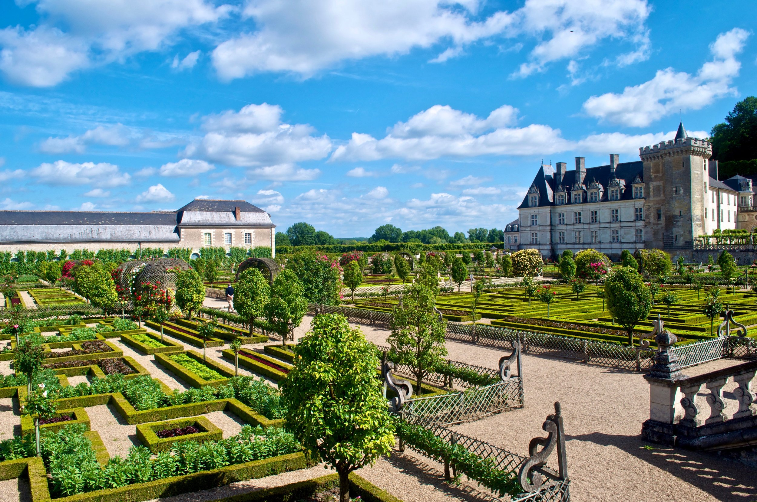 Villandry Gardens, Loire Valley, France - Ultimate Northern France Itinerary