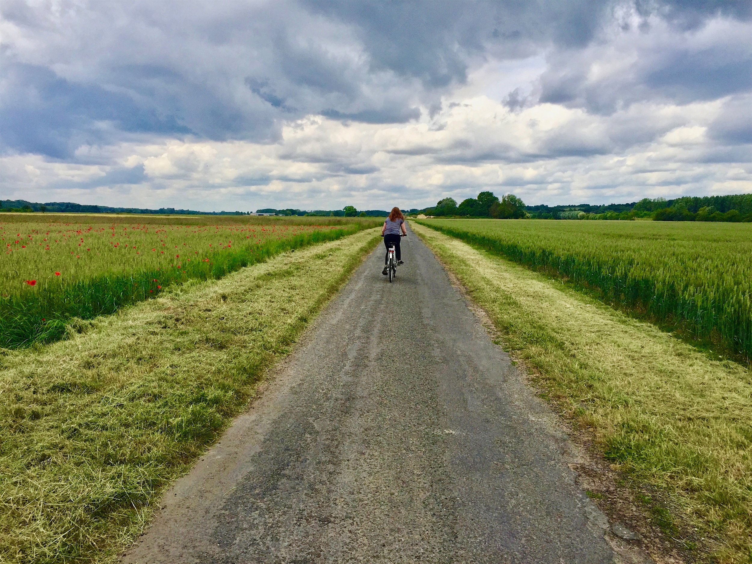 Biking Riding to Chenonceau Chateau - The Ultimate Northern France Itinerary