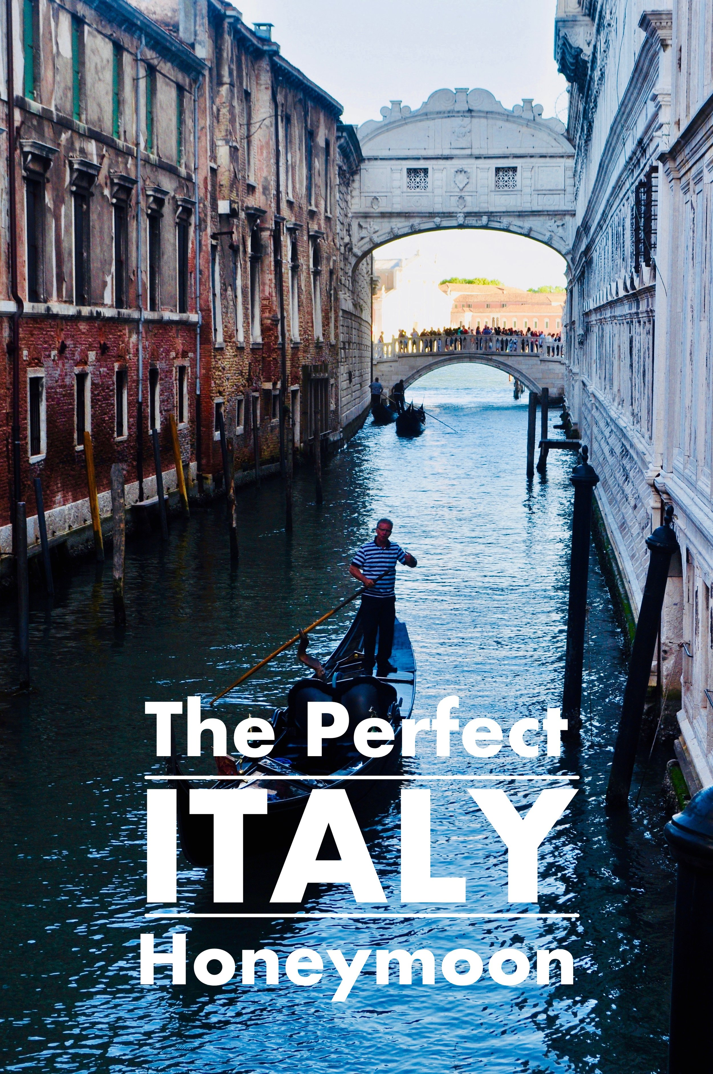 Our 8-Day Italy Honeymoon Itinerary - A Happy Passport.  Plan the perfect honeymoon in Italy that includes Venice, Florence, and Rome. #italy #honeymoon #rome #venice #florence