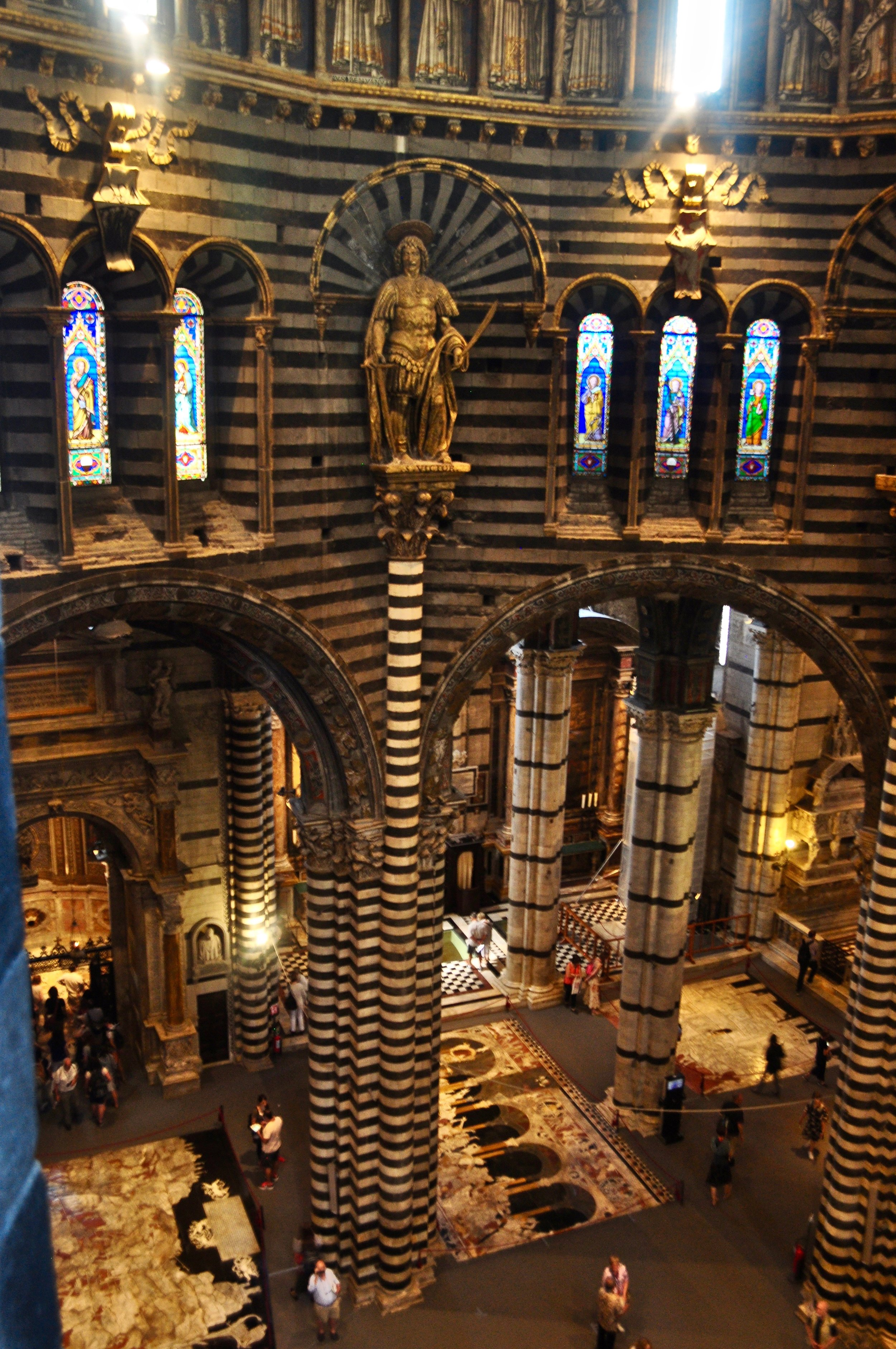 View of Siena Cathedral on Gate of Heaven Tour - Scenic Day Trip to Siena from Florence, Italy - A Happy Passport