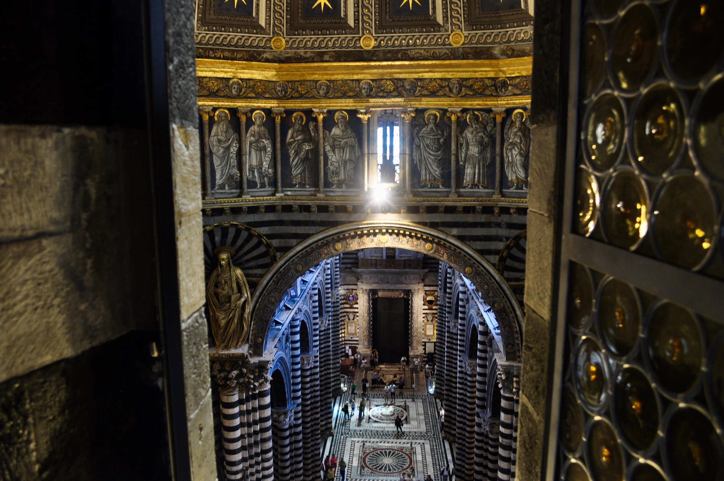View of Siena Cathedral from Gate of Heaven Tour - Scenic Day Trip to Siena from Florence, Italy - A Happy Passport