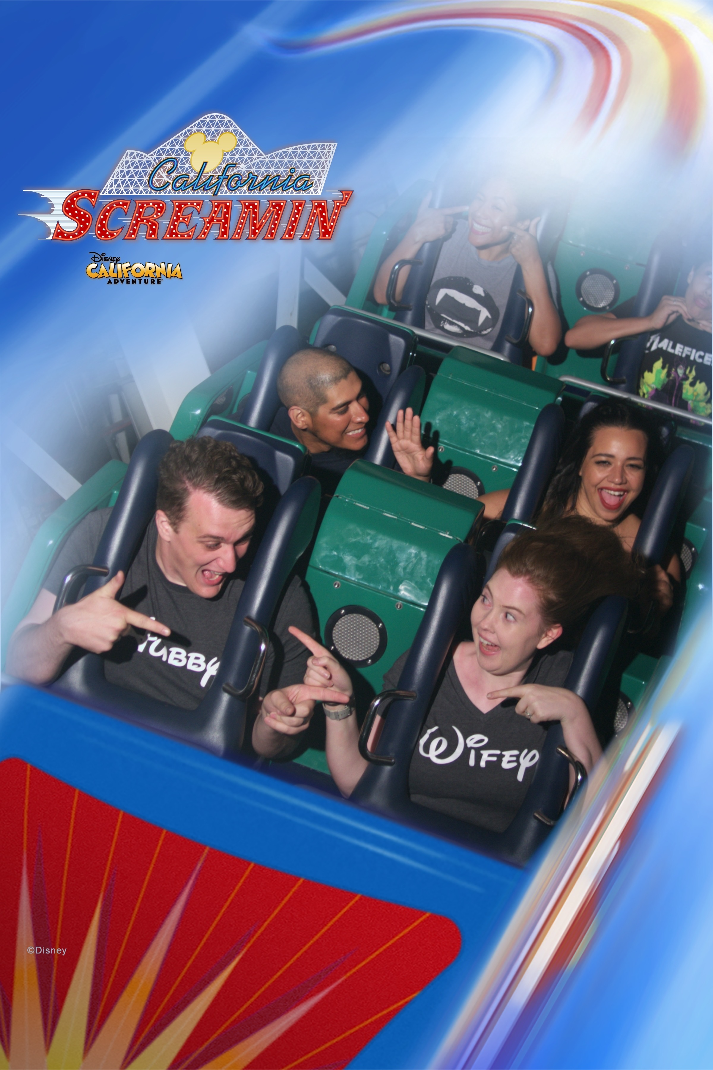Disneyland's California Scremin' PhotoPass Ride Photo - How to Make the Most of Disney Theme Parks as an Adult