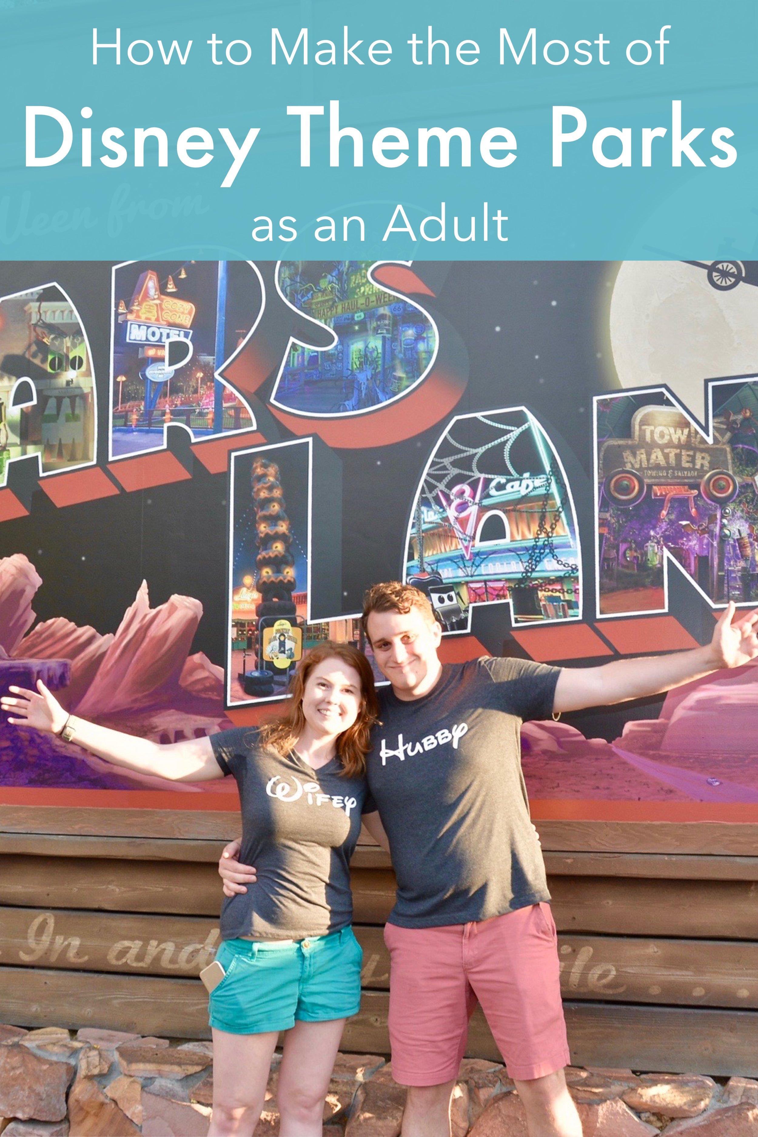How to Make the Most of Disney Theme Parks as an Adult - A Happy Passport #disney #disneyworld #travel #vacation #florida #disneyland #Unitedstates #themepark
