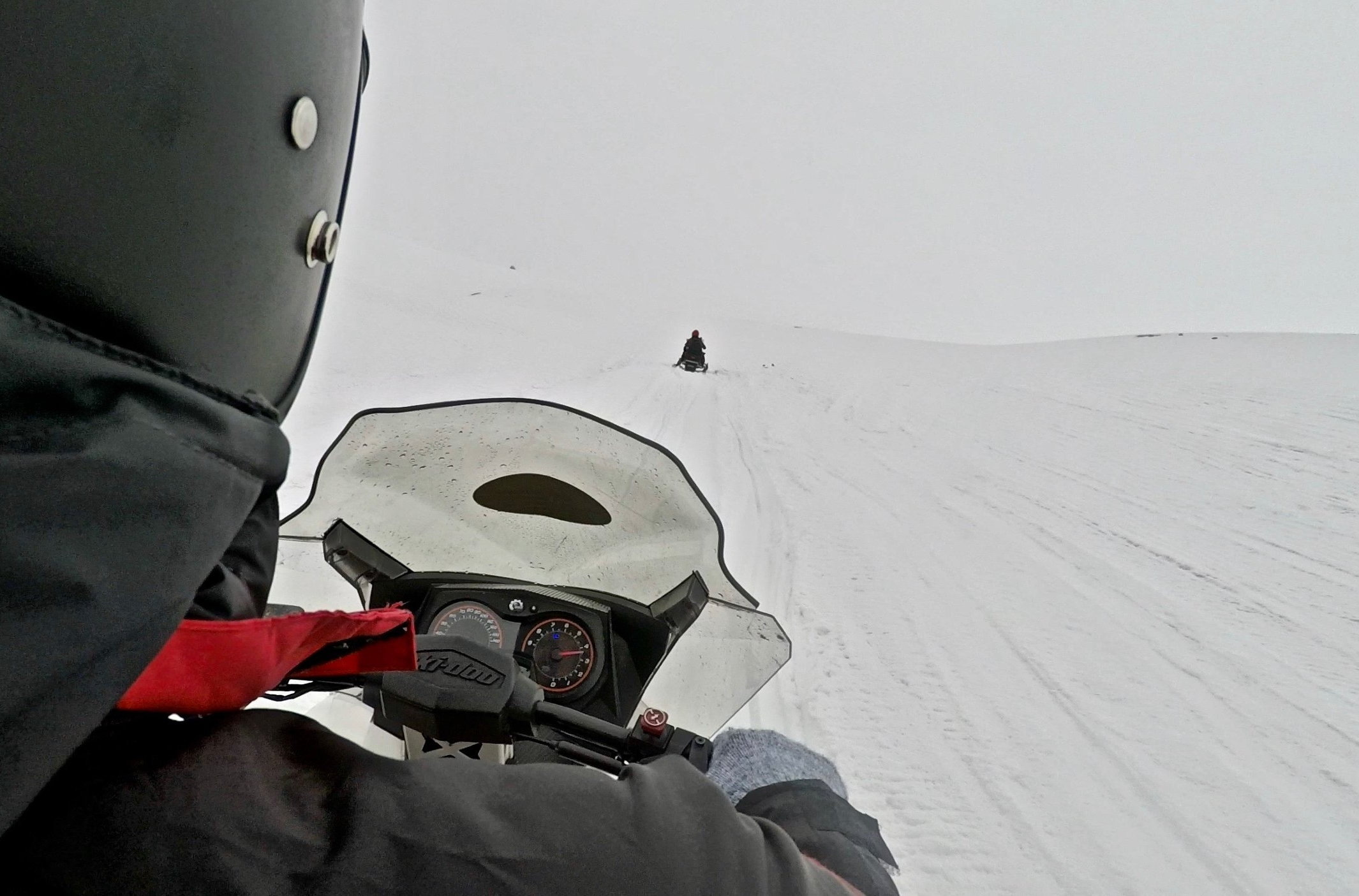 Snowmobiling on the 3rd Largest Glacier