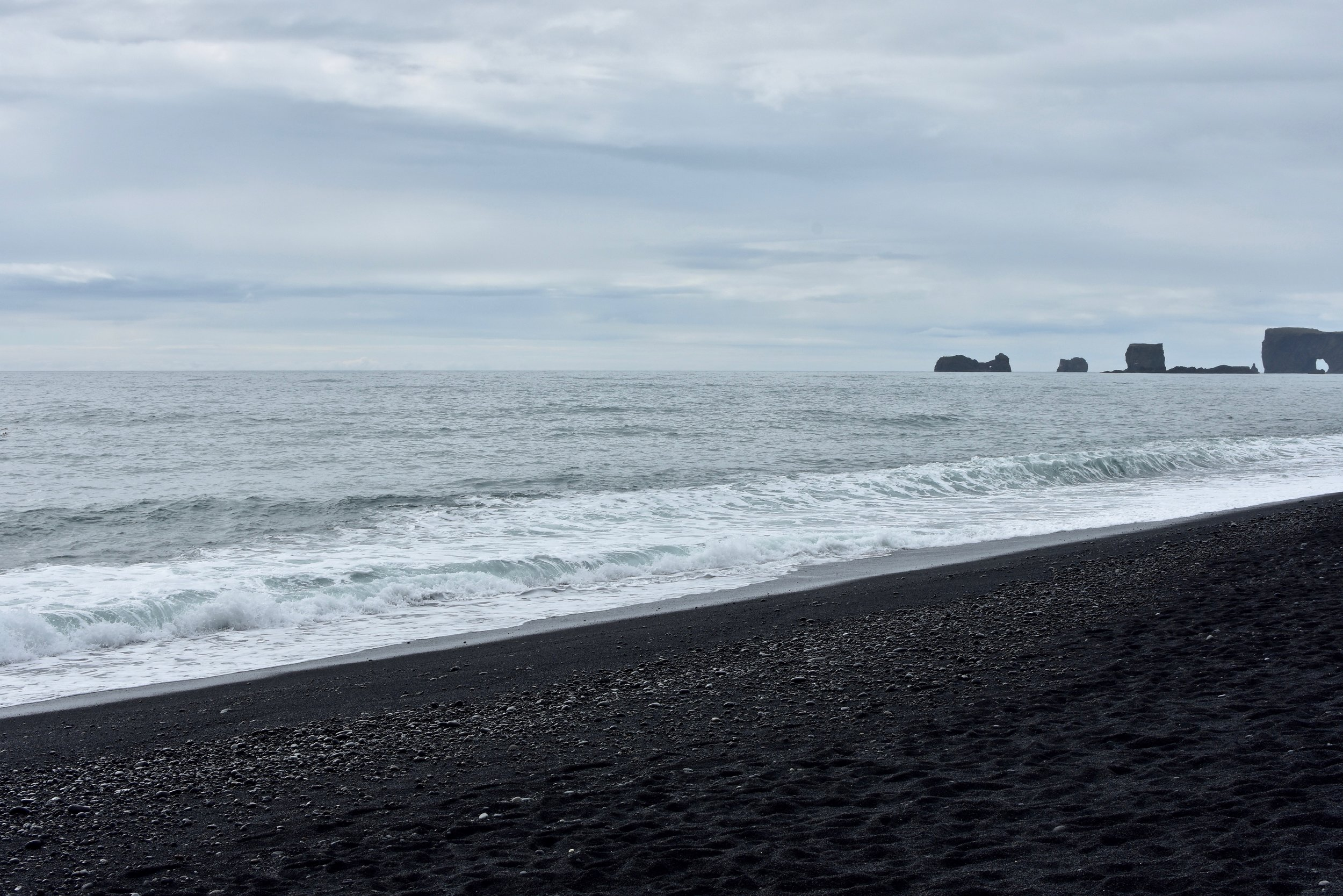 Reynisfjara Beach - South Coast of Iceland