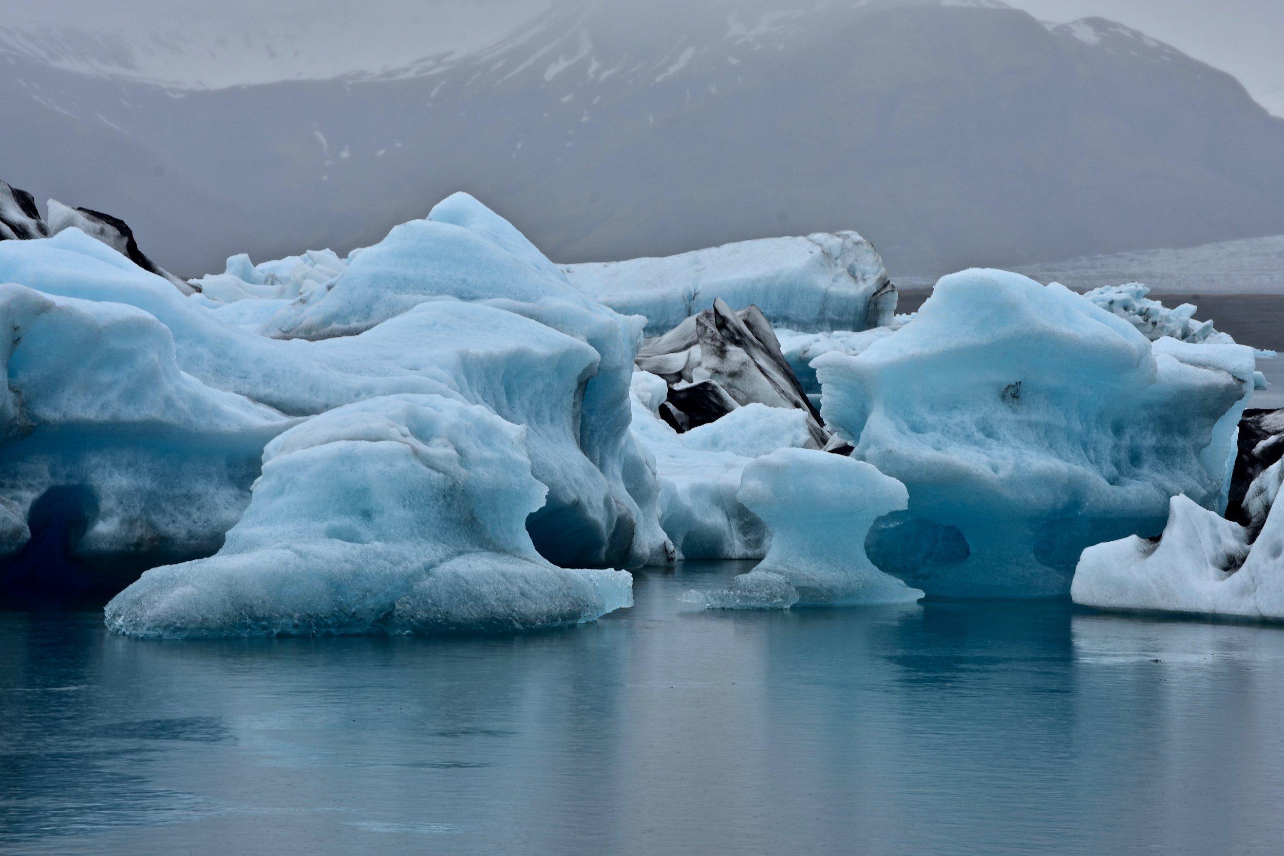 Jökulsárlón glacial lagoon - South Coast of Iceland