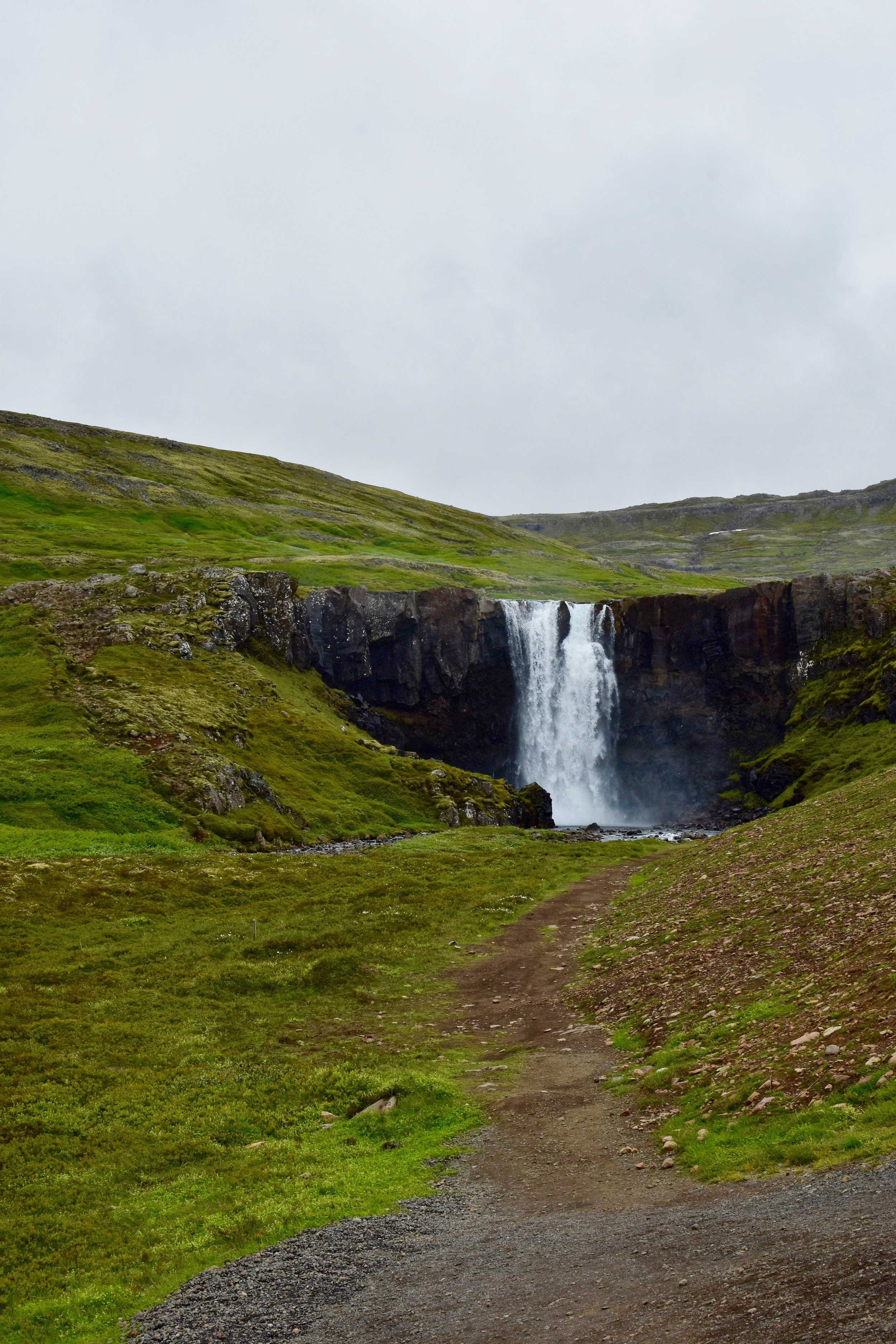 Waterfalls on the way to Seydisfjordur - Day 3 Driving the Ring Road in Iceland