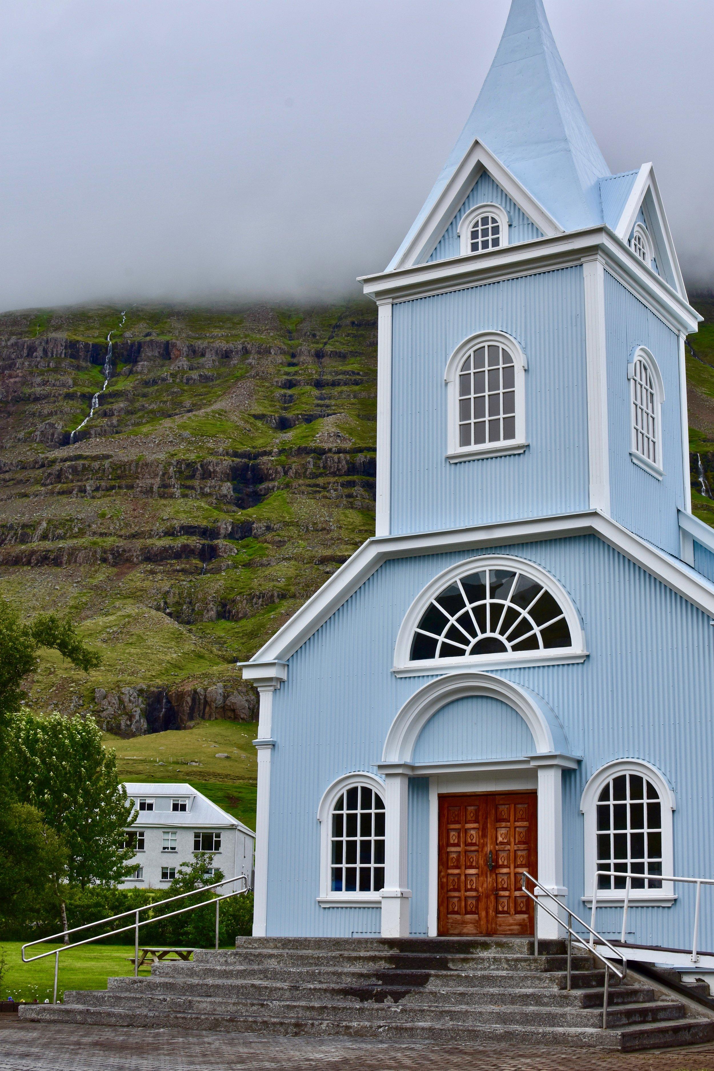 Seyðisfjörður Church - East Iceland