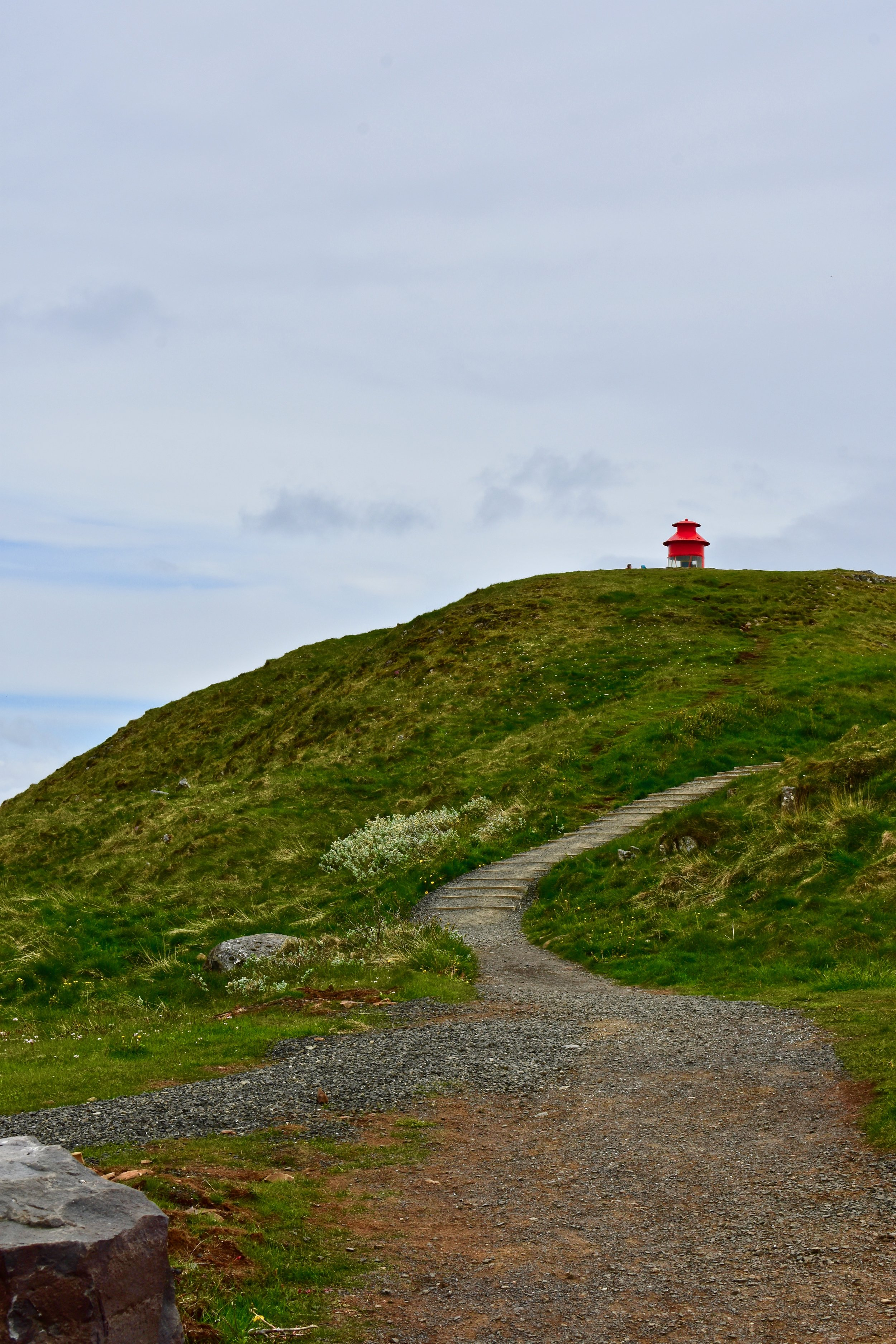 Súgandisey Island Lighthouse at Stykkishólmur, Iceland