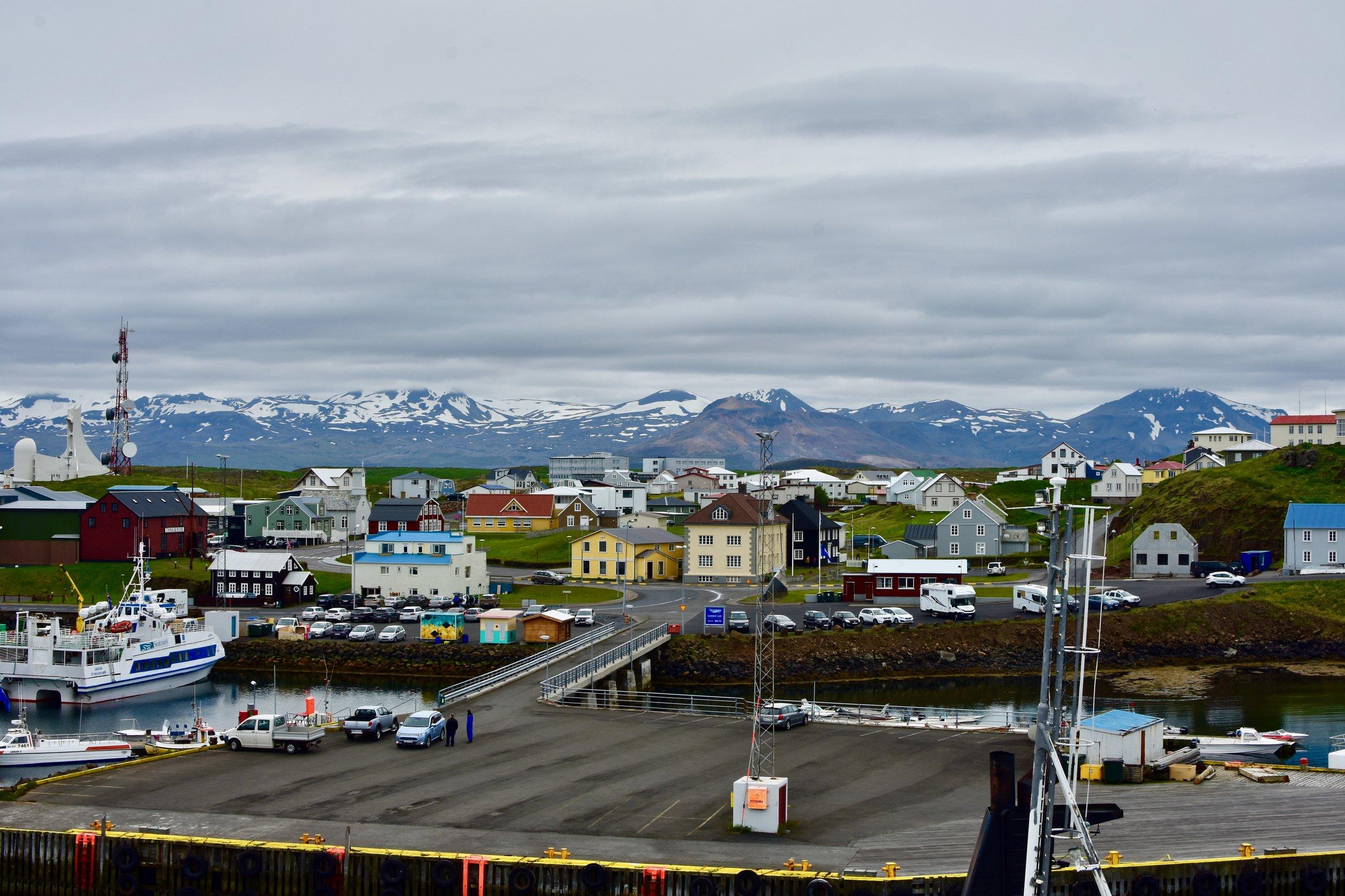 STYKKISHÓLMUR Village in Snæfellsnes Peninsula, Iceland