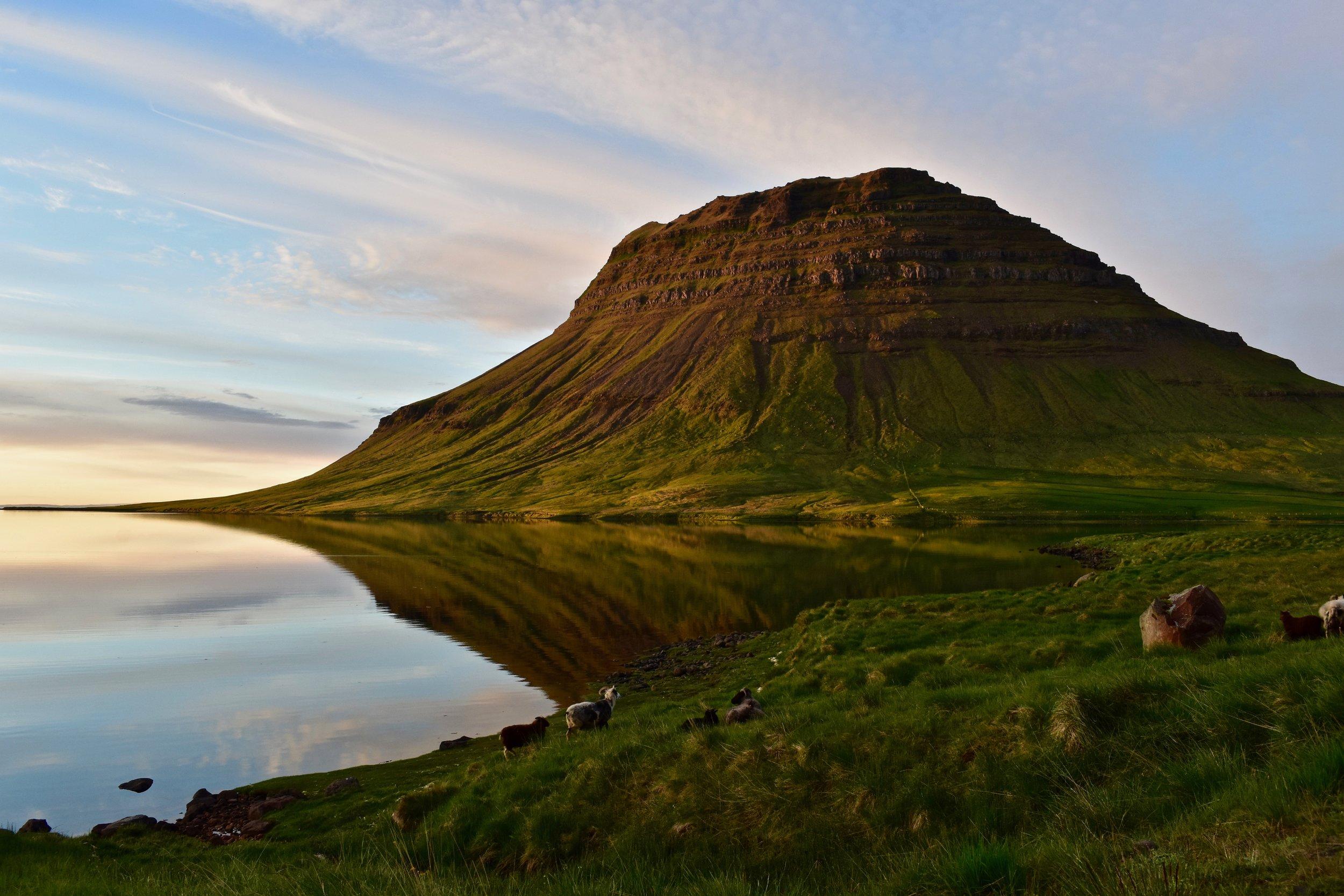 Kirkjufell on Snæfellsnes Peninsula, Iceland